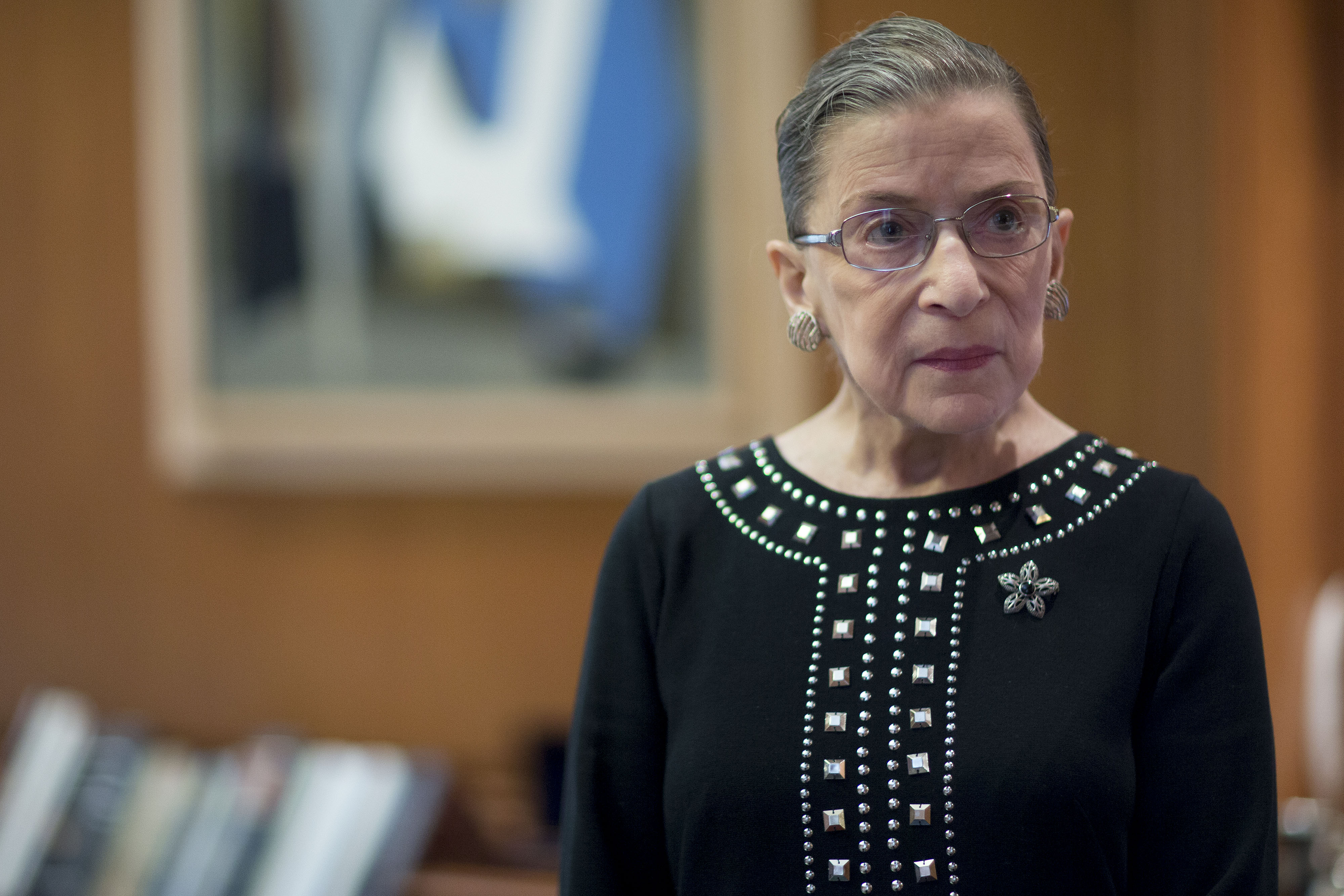 U.S. Supreme Court Associate Justice Ruth Bader Ginsburg Interview