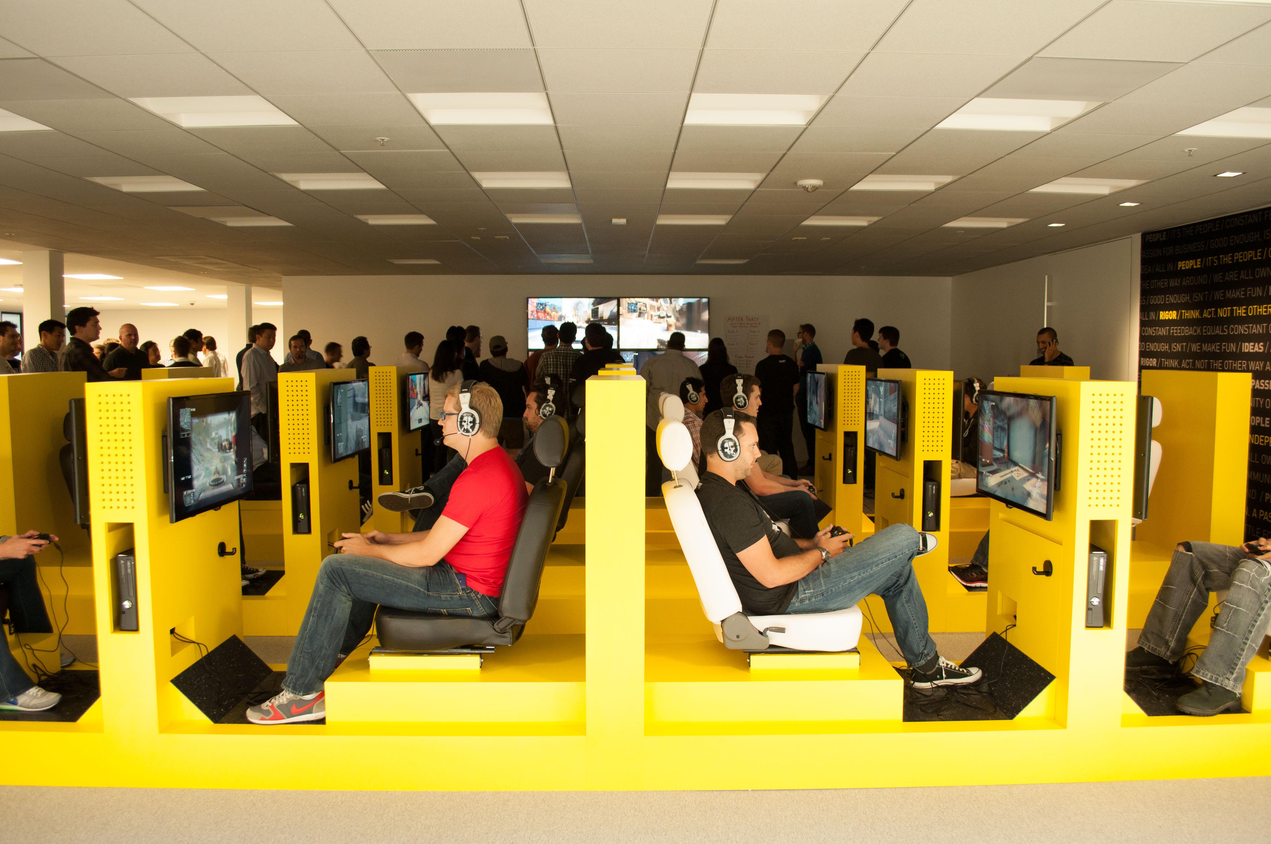 Activision Blizzard Coolest Offices 2016