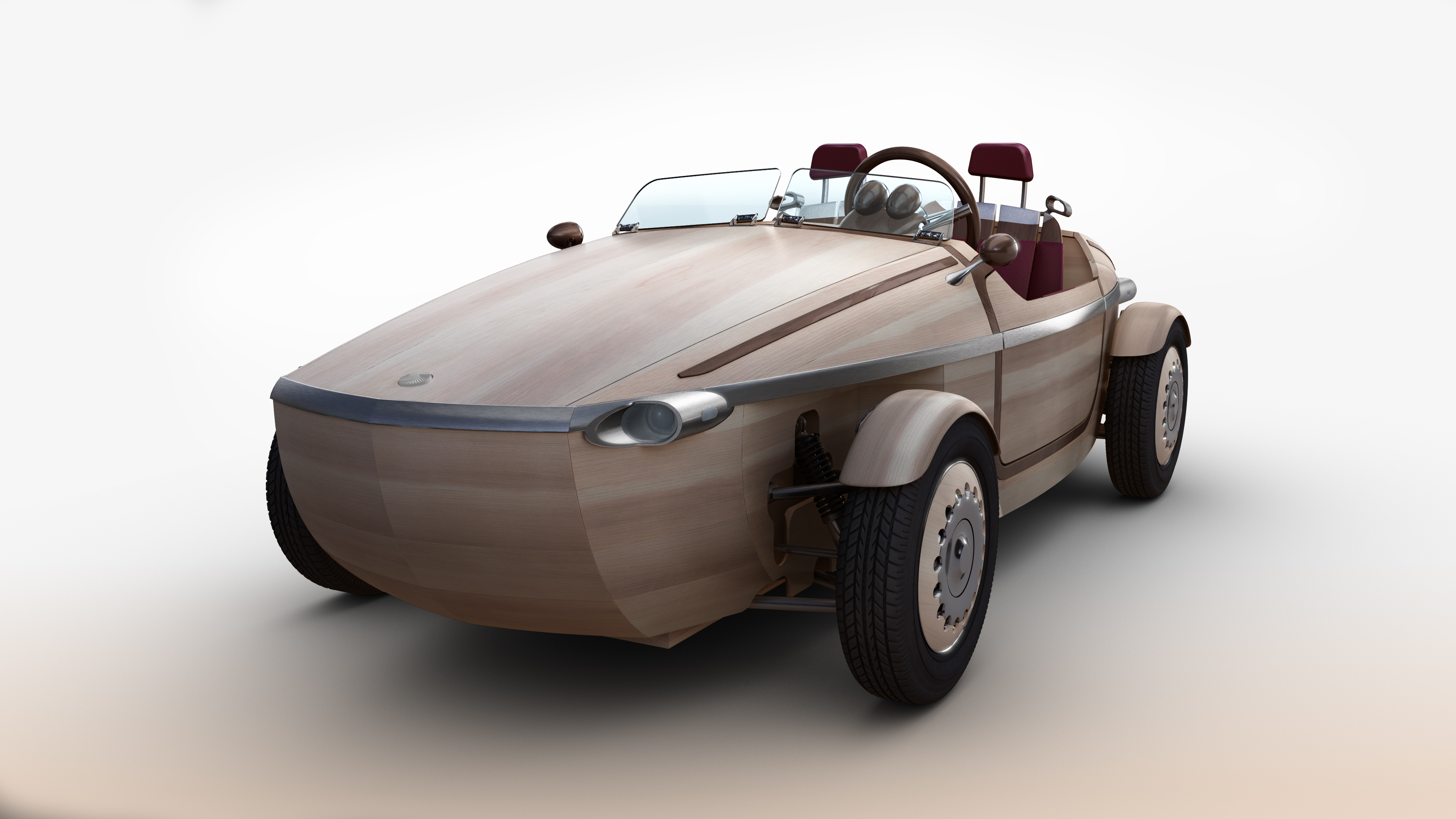 Toyota will introduce the Setsuna, a concept car made primarily of wood, at Milan Design Week in April.