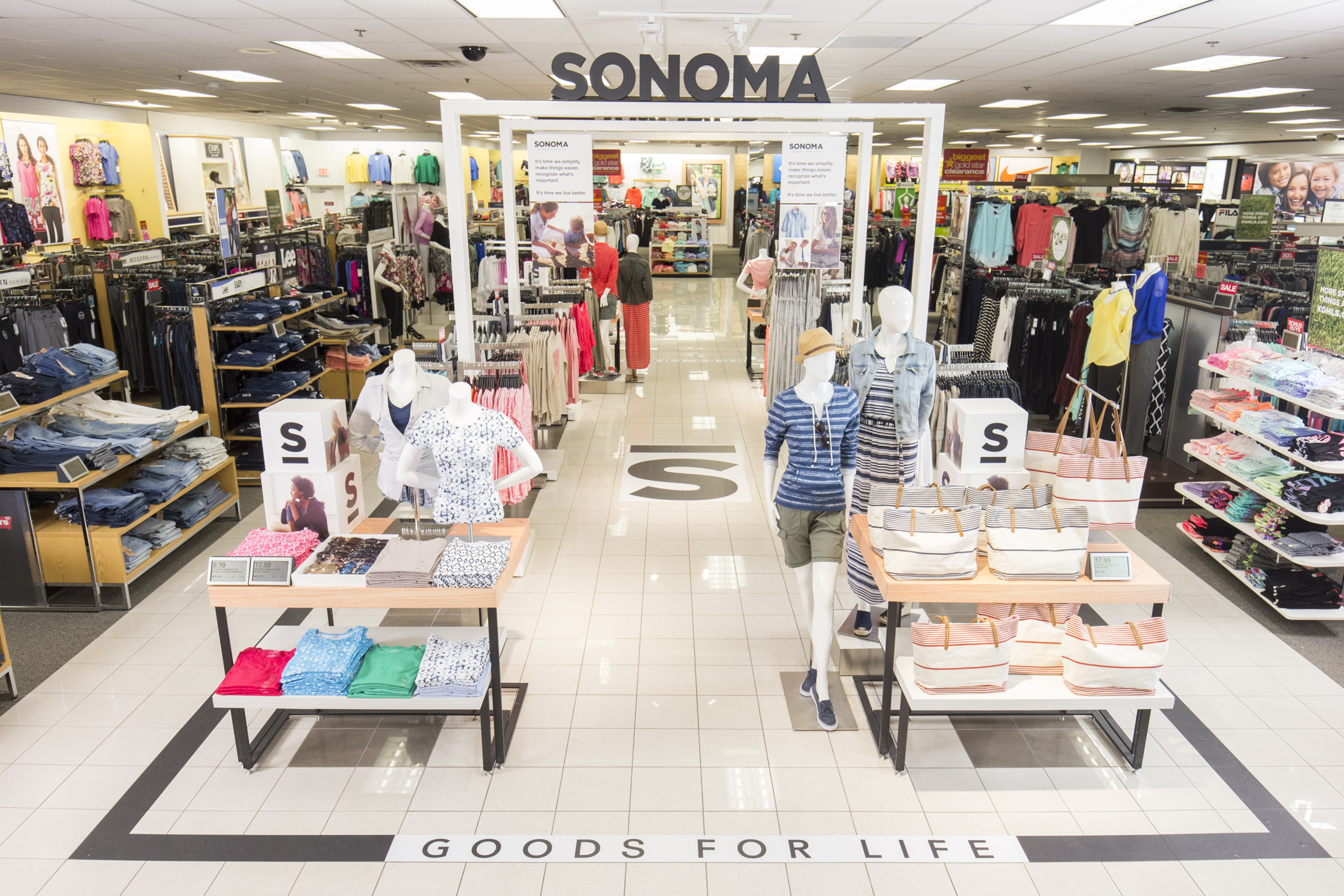 Kohl\'s Relaunches Sonoma, a Big Test for its Sputtering ...