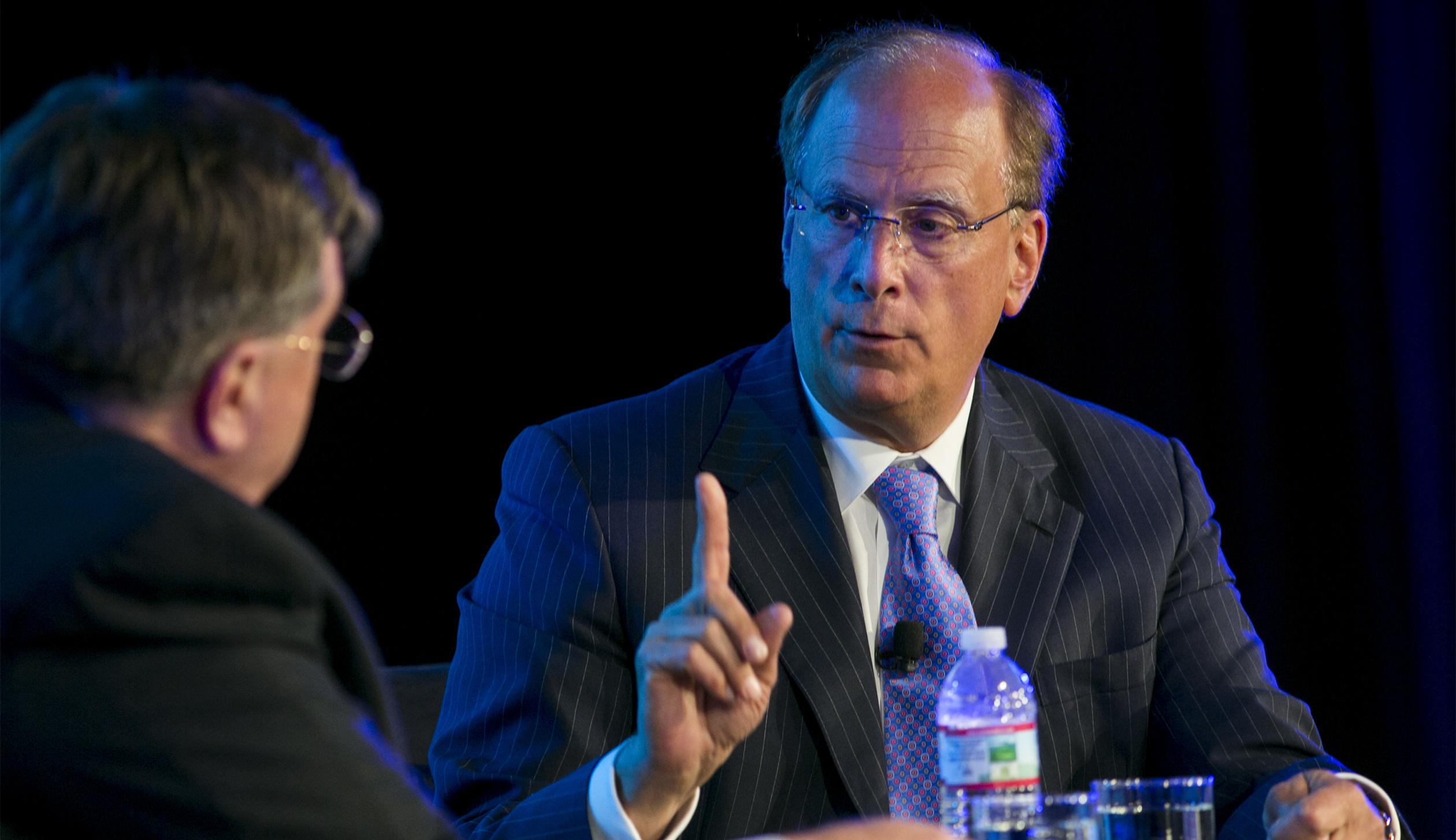 DC: BlackRock CEO Laurence Fink