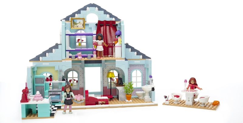 American Girl Grace's 2-in-1 Buildable Home