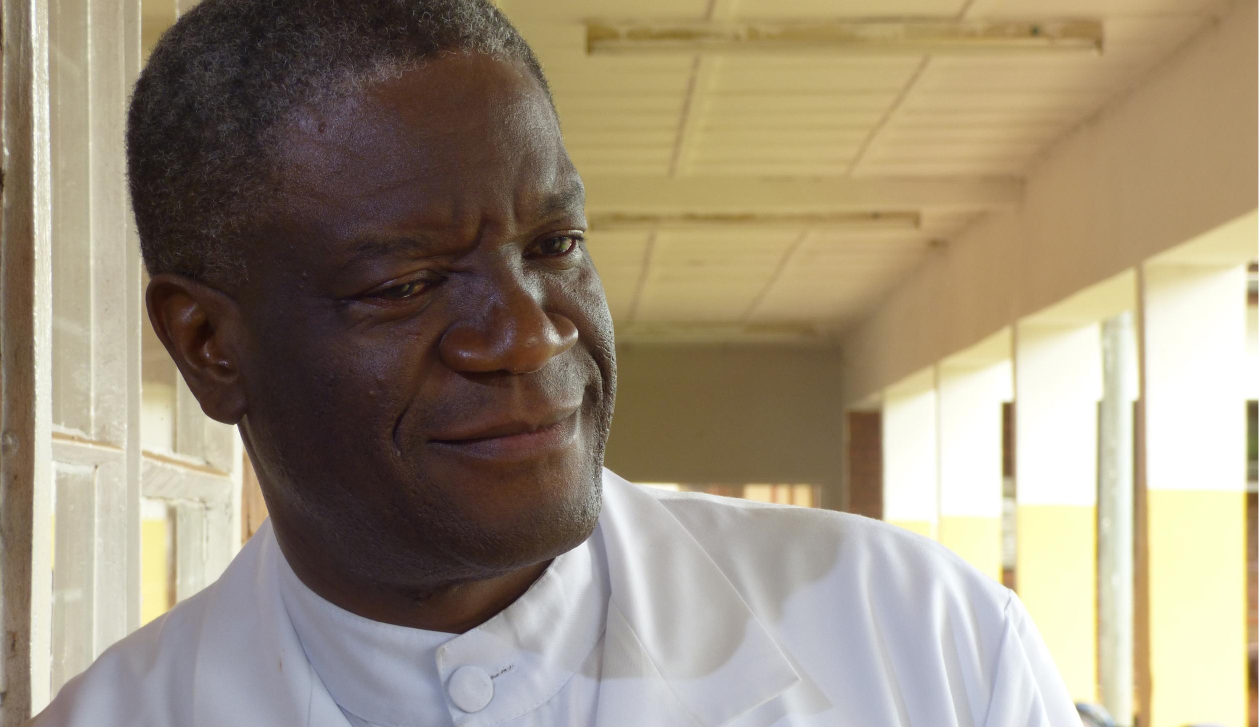 Portrait of Dr. Denis Mukwege.