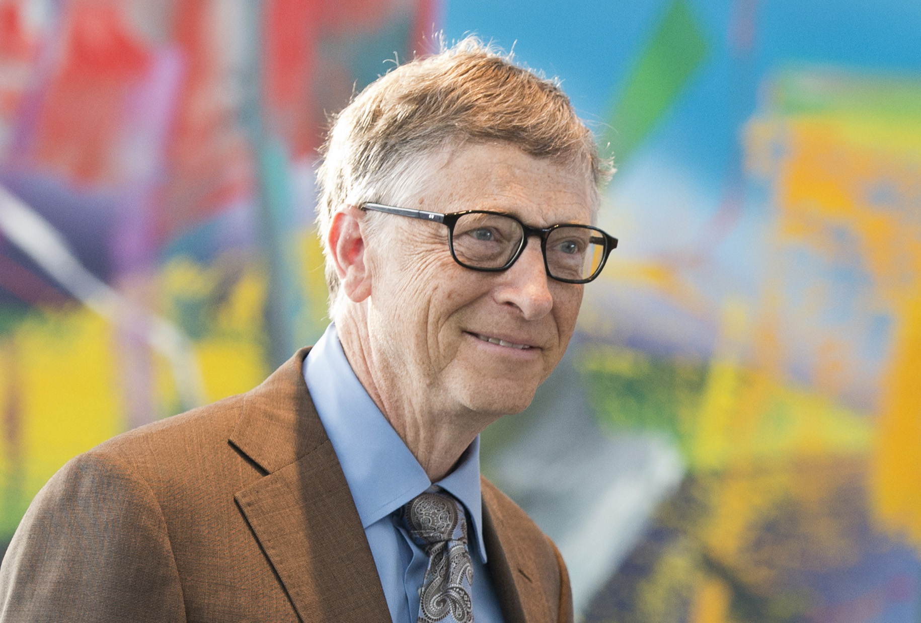 Bill Gates Visits Berlin