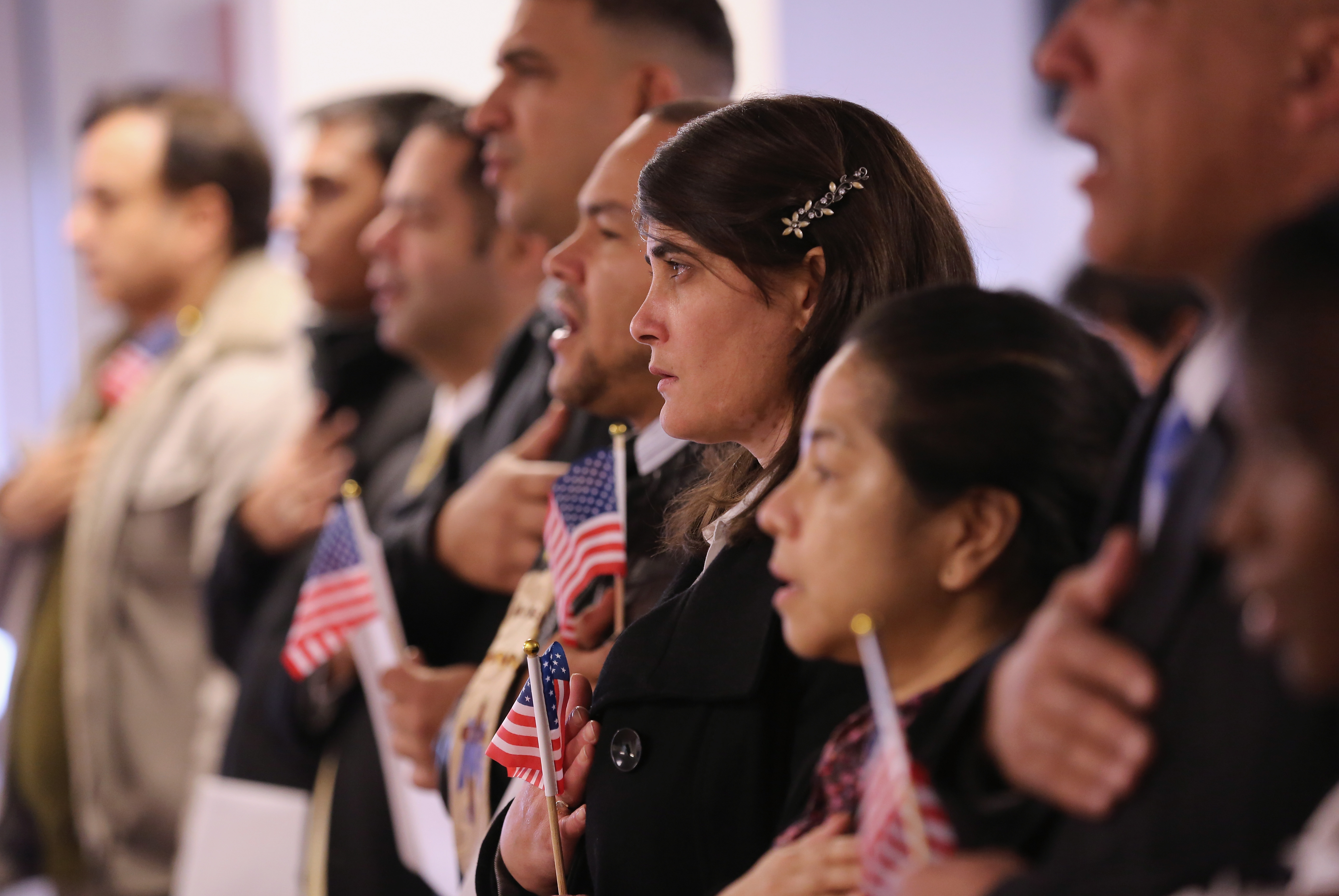 New US Citizens Naturalized In NJ Ceremony