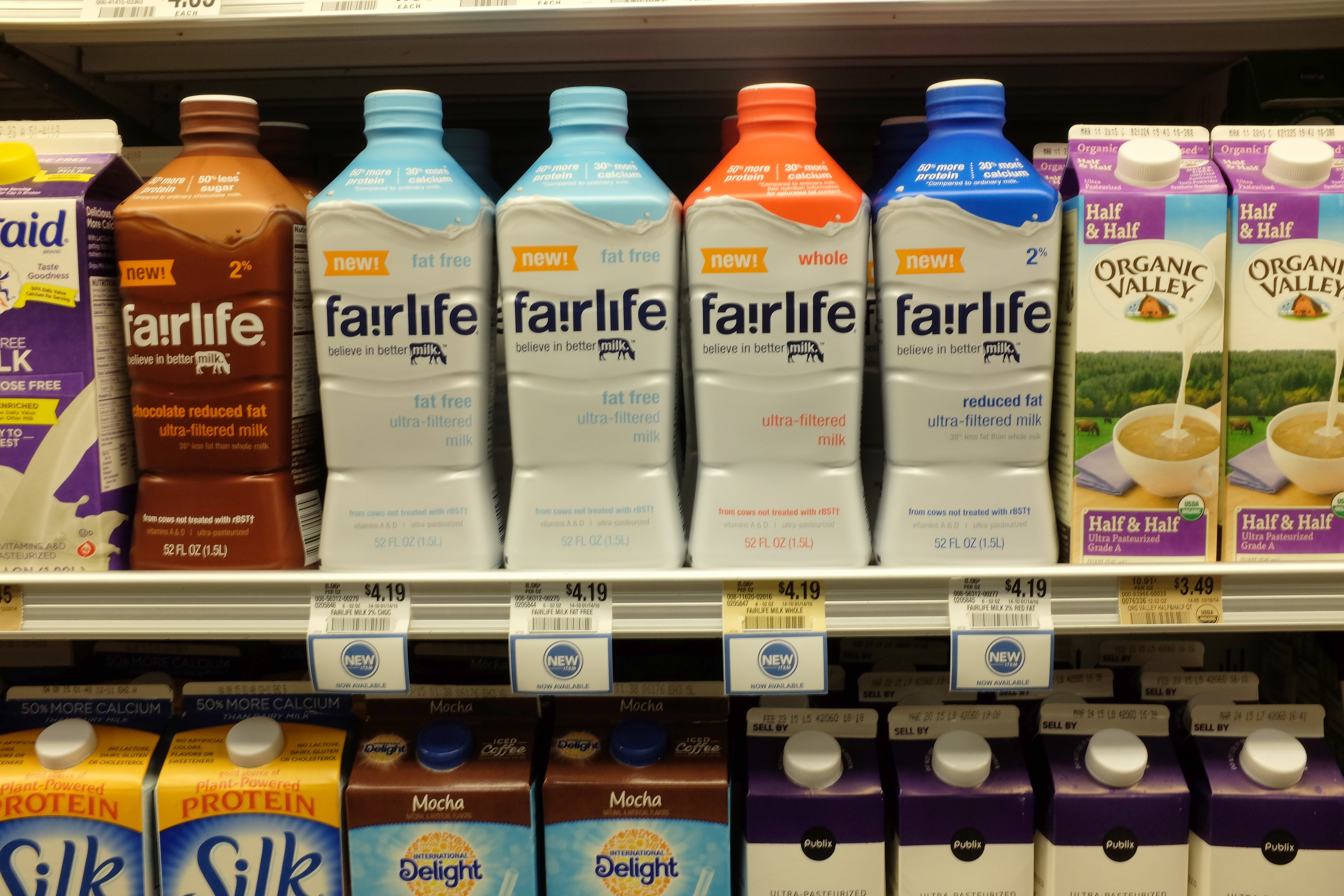 Coke Debuts New Reformulated Milk Called Fairlife, Boasting More Protein And Less Sugar