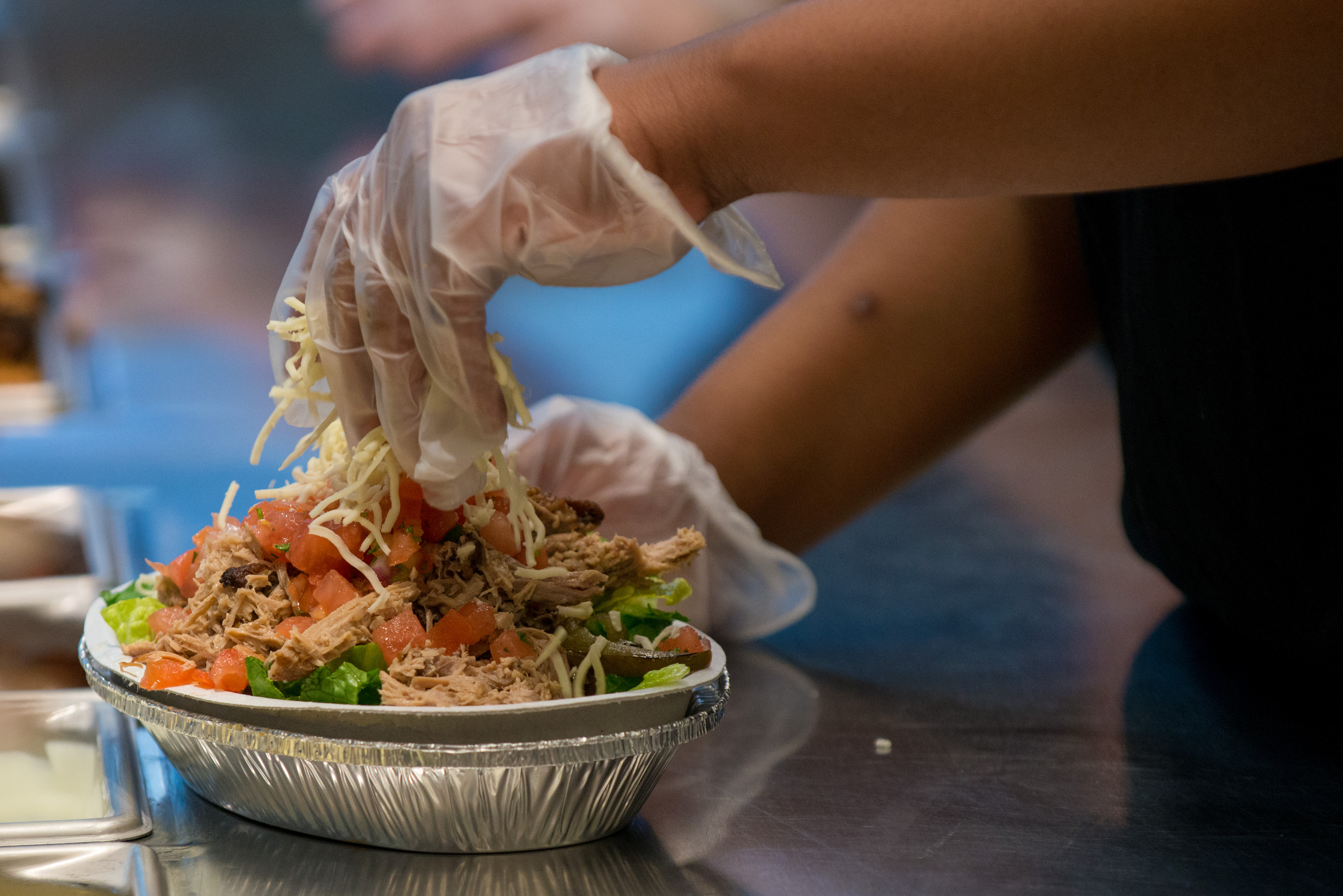 Inside A Chipotle Restaurant Ahead of Earnings Figures