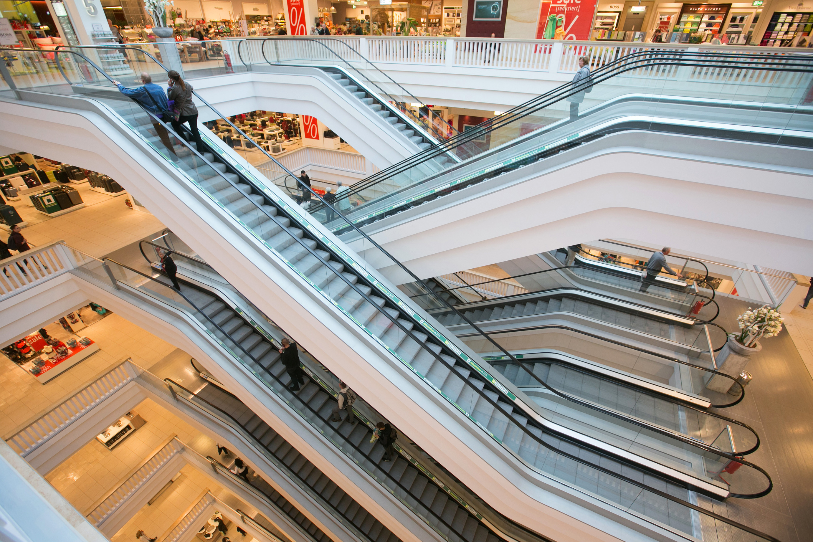 Inside A Galeria Kaufhof Store As Metro AG Sells Department Store Chain For 2.83 Billion Euros