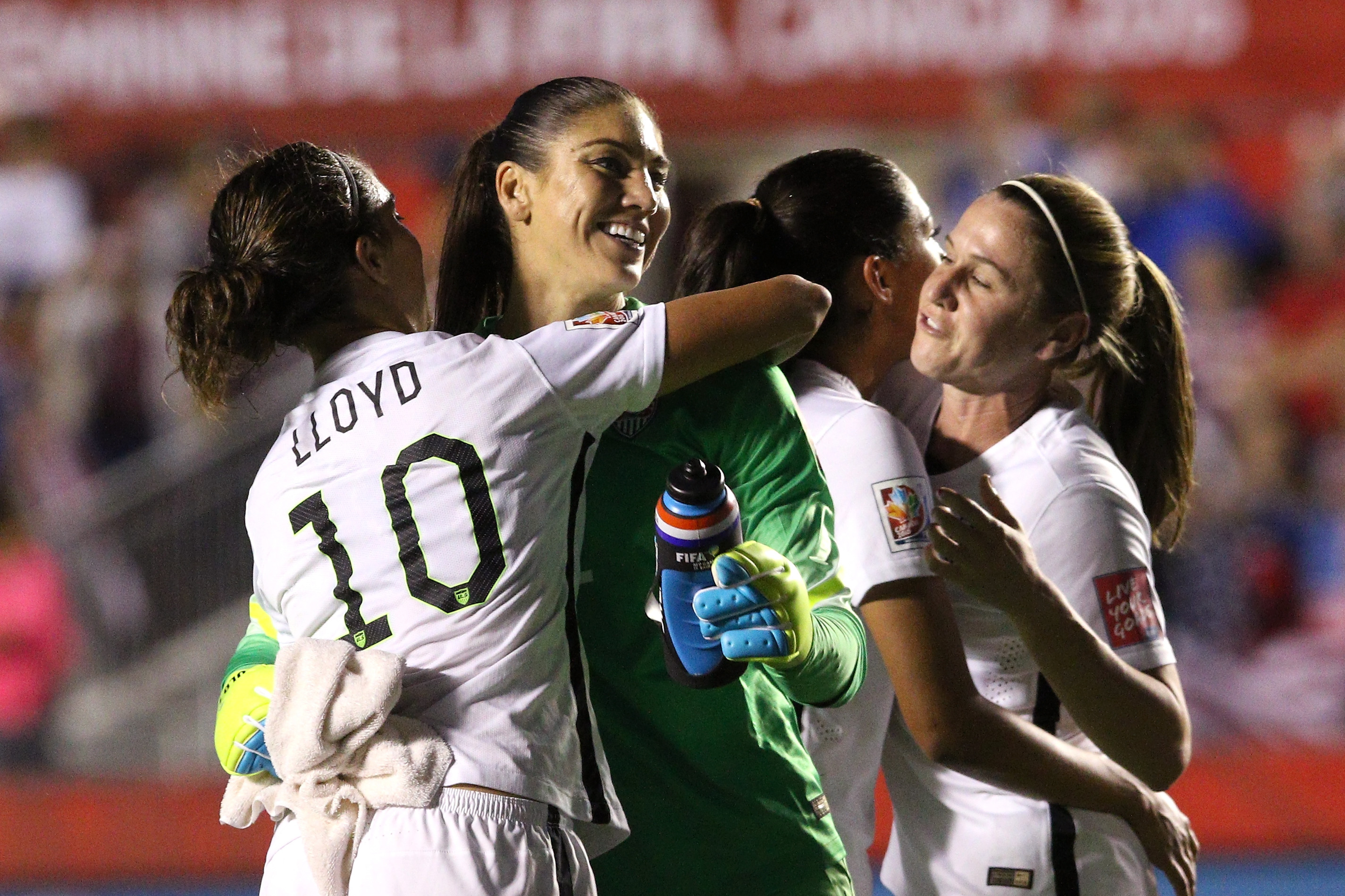 in the FIFA Women's World Cup 2015 Quarter Final match at Lansdowne Stadium on June 26, 2015 in Ottawa, Canada.