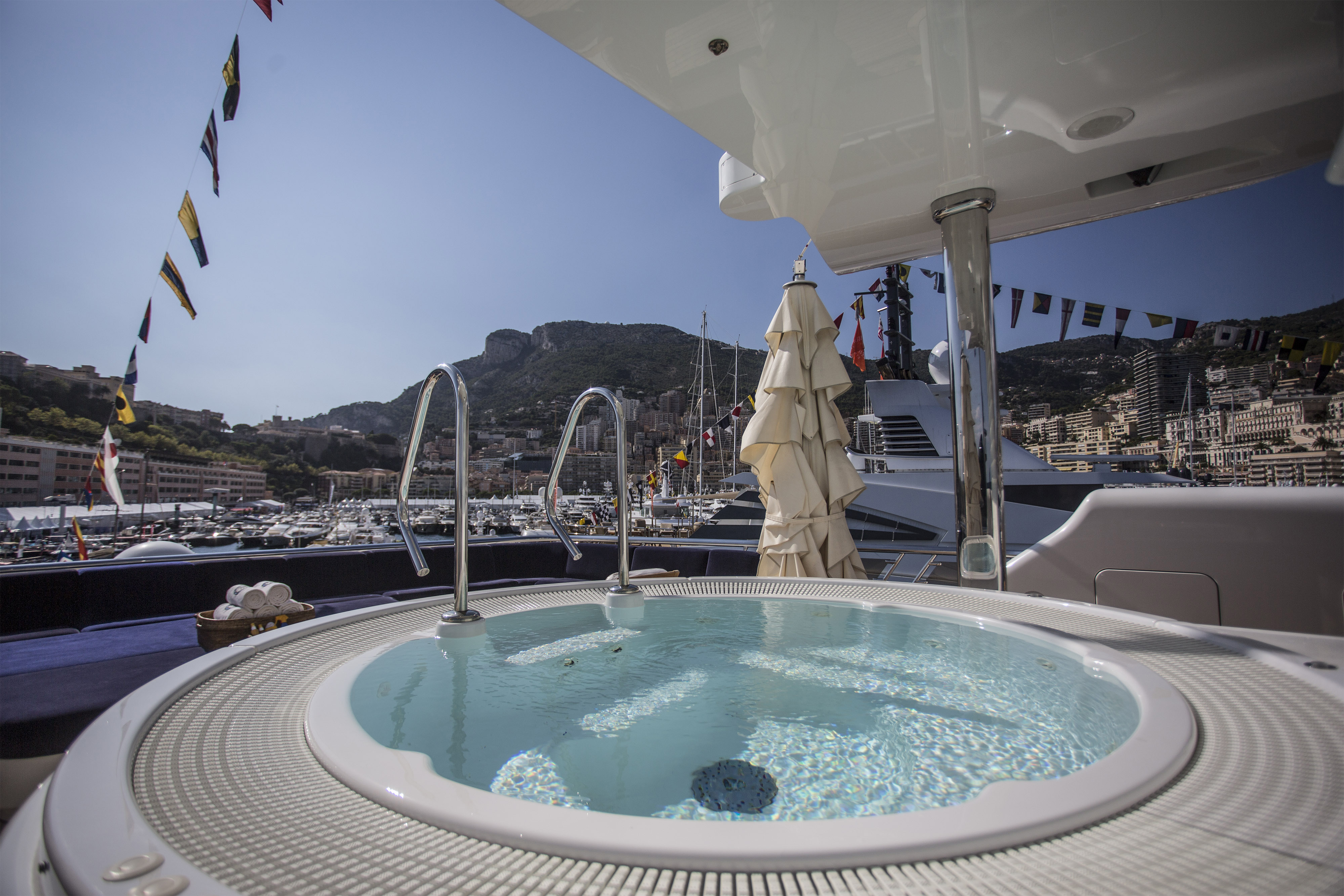 Luxury Yachts At The 2015 Monaco Yacht Show