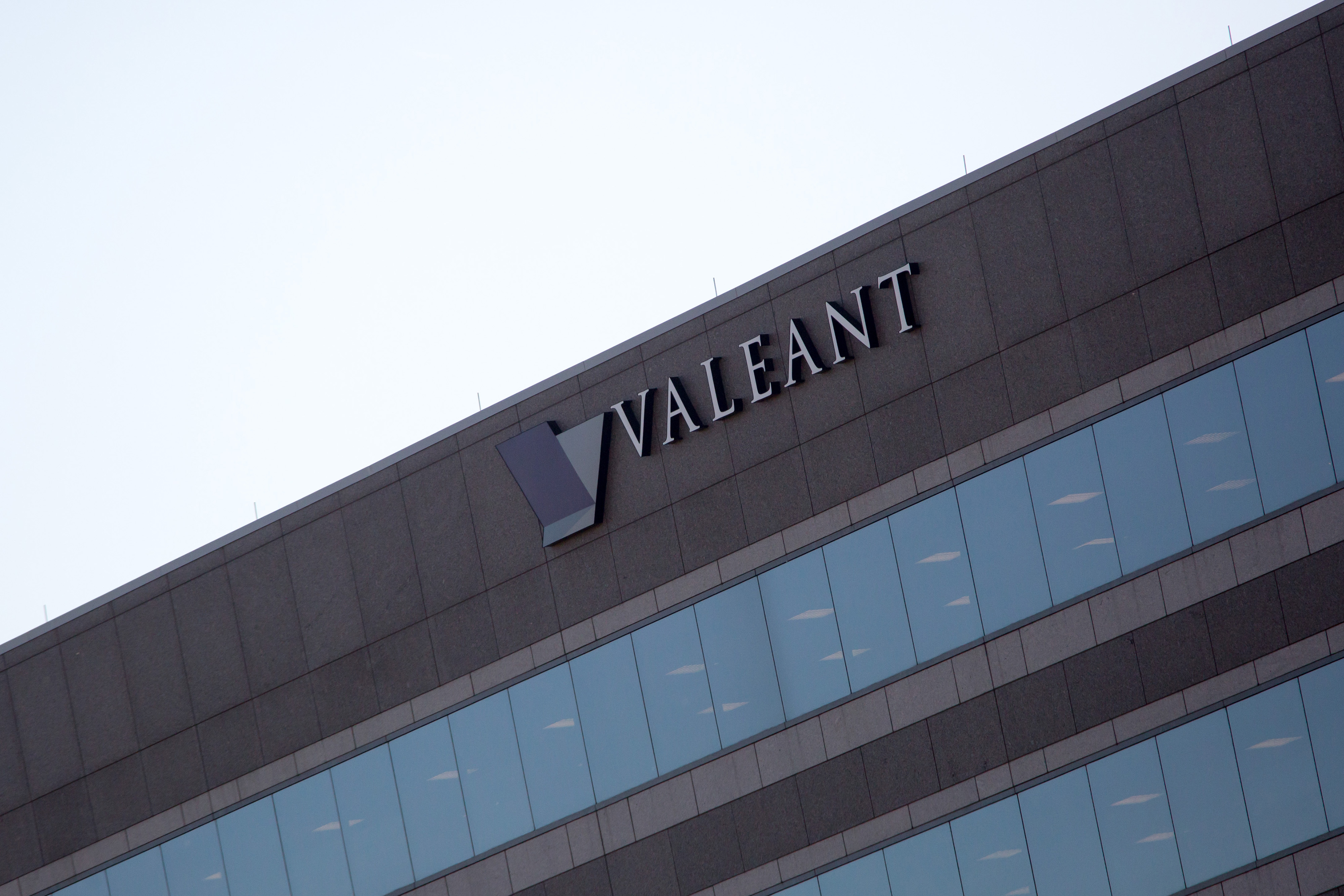 The headquarters of Valeant Pharmaceuticals International, Inc. stands in  Bridgewater Township, U.S., on Wednesday Nov. 04, 2015. Photographer: Michael Nagle/Bloomberg