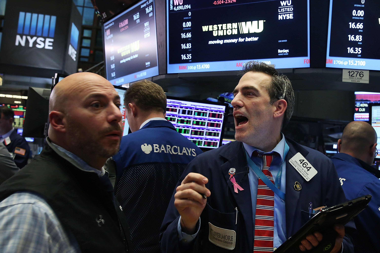 Stocks Decline Sharply Following Global Market Sell Off
