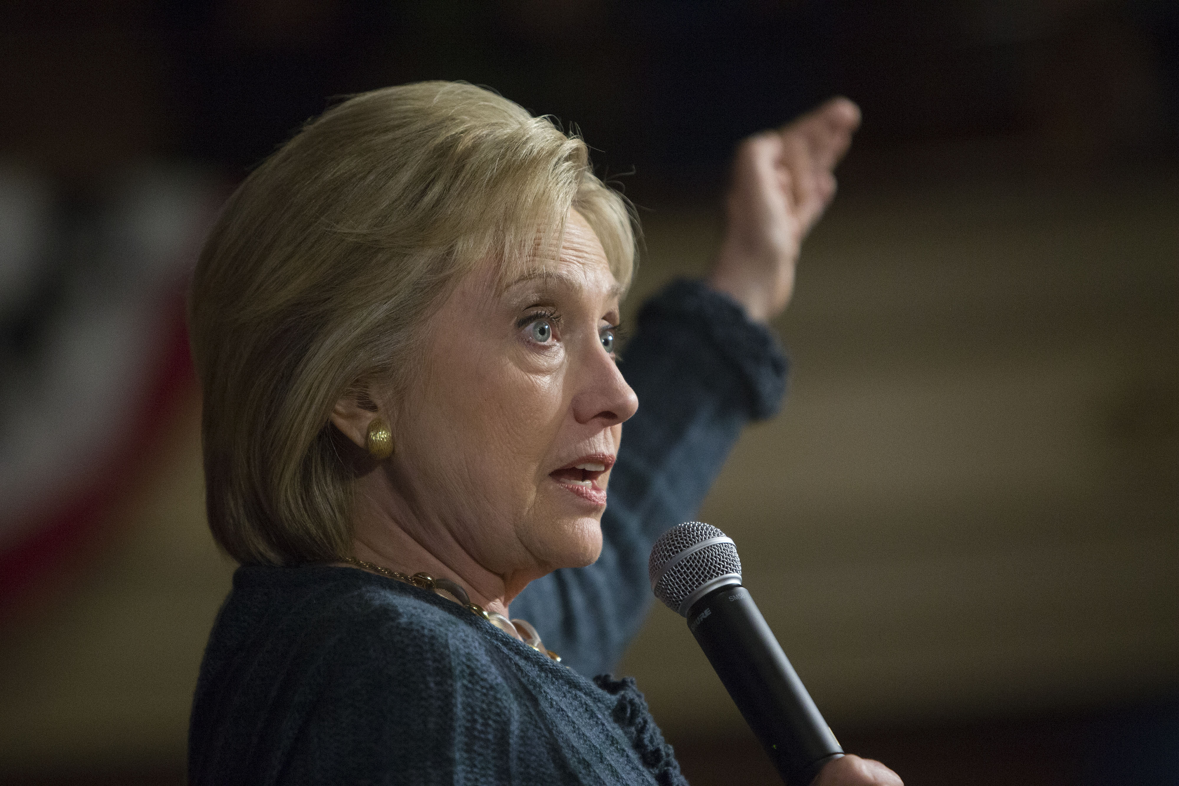 Presidential Candidate Hillary Clinton Holds Iowa Get Out The Caucus Events
