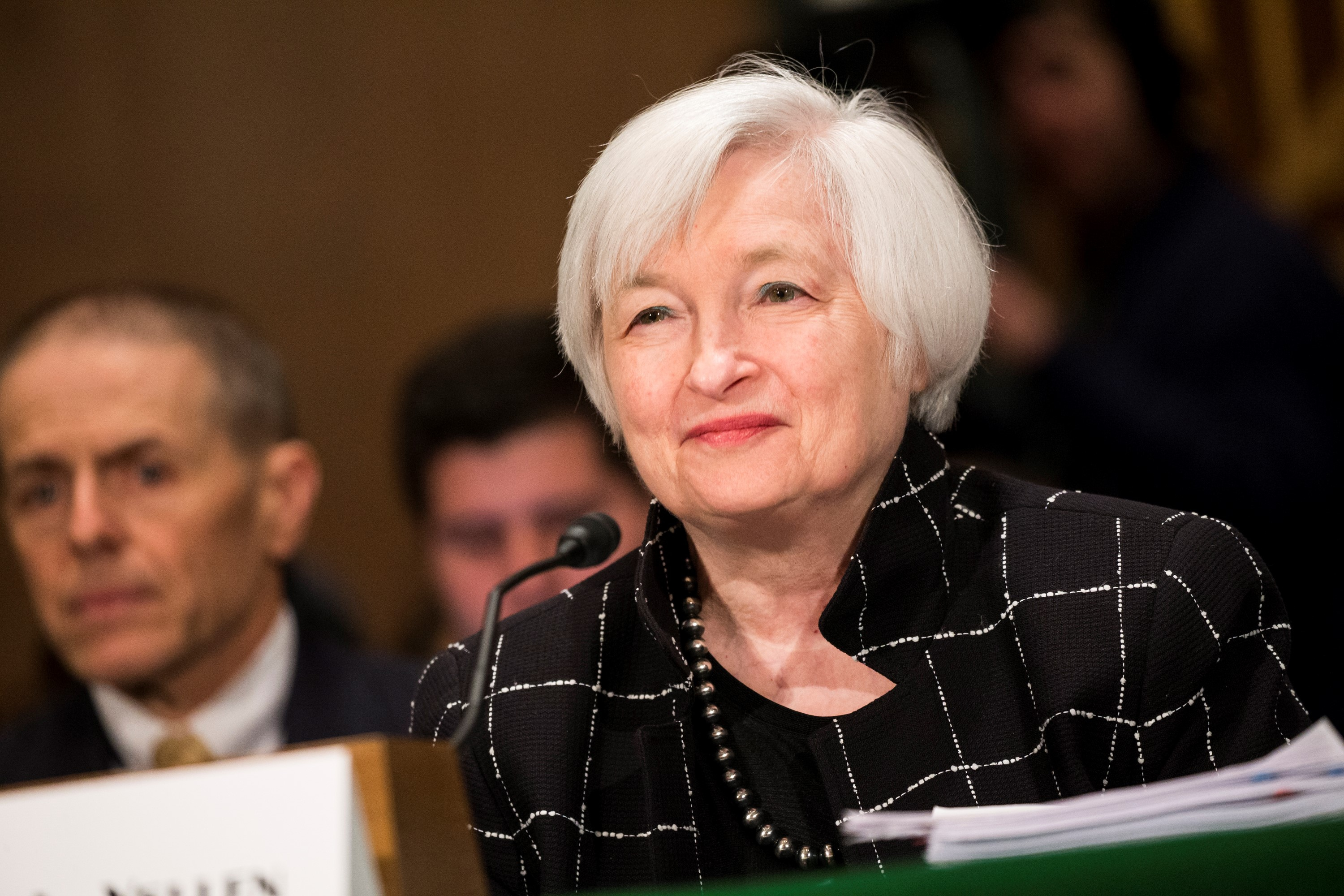 Senate Banking Committee Hearing with Janet Yellen