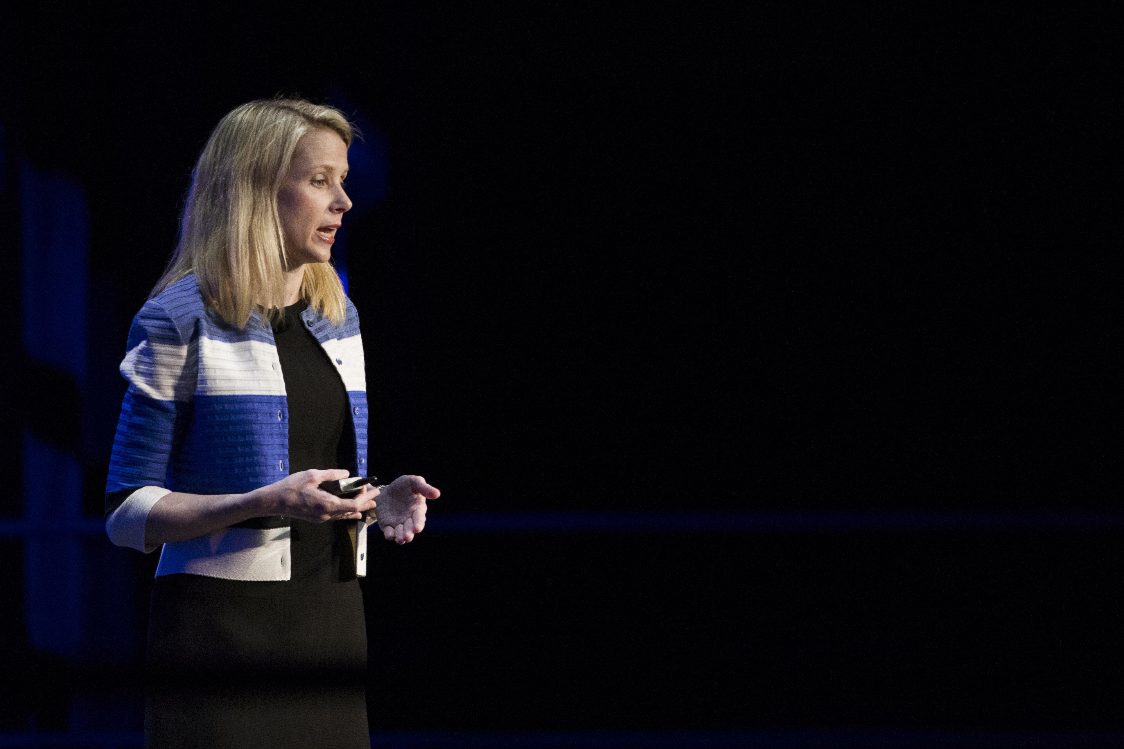 Marissa Mayer Delivers Keynote At Yahoo Mobile Developers Conference