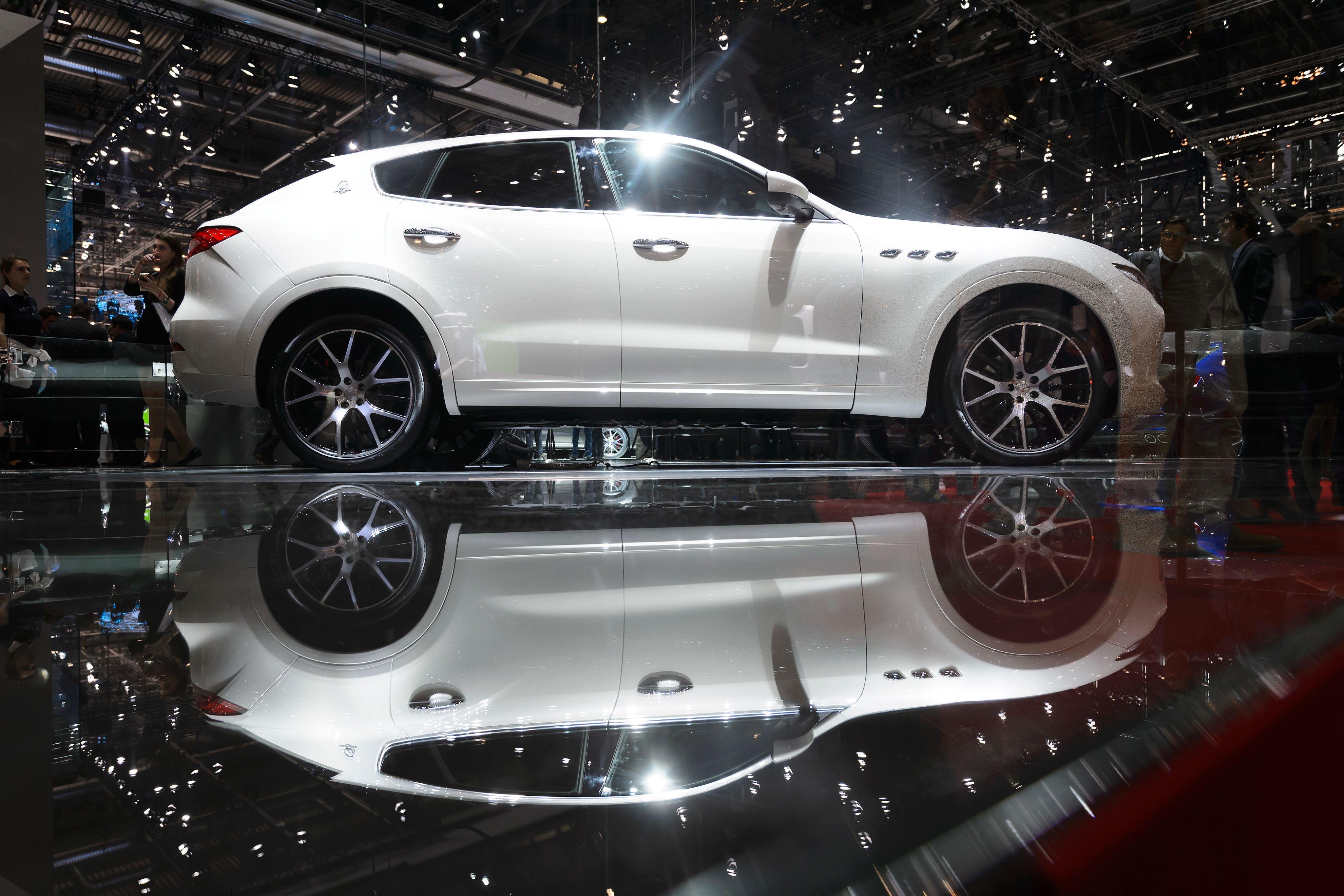 Maserati Unveils Its 83 000 Levante Suv Fortune