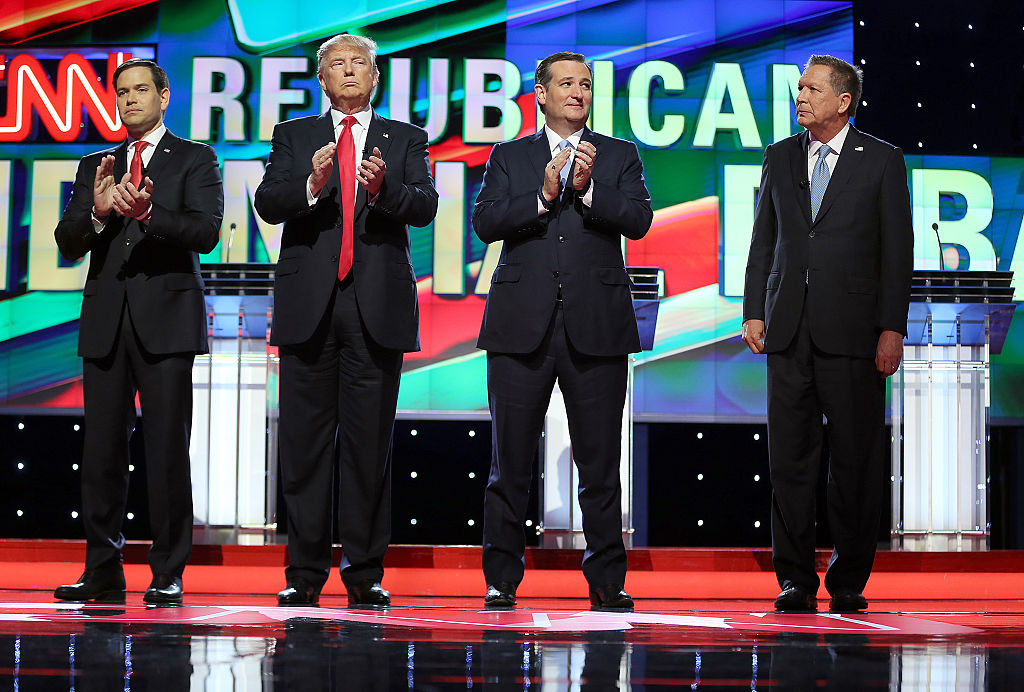 GOP presidential debate in Miami