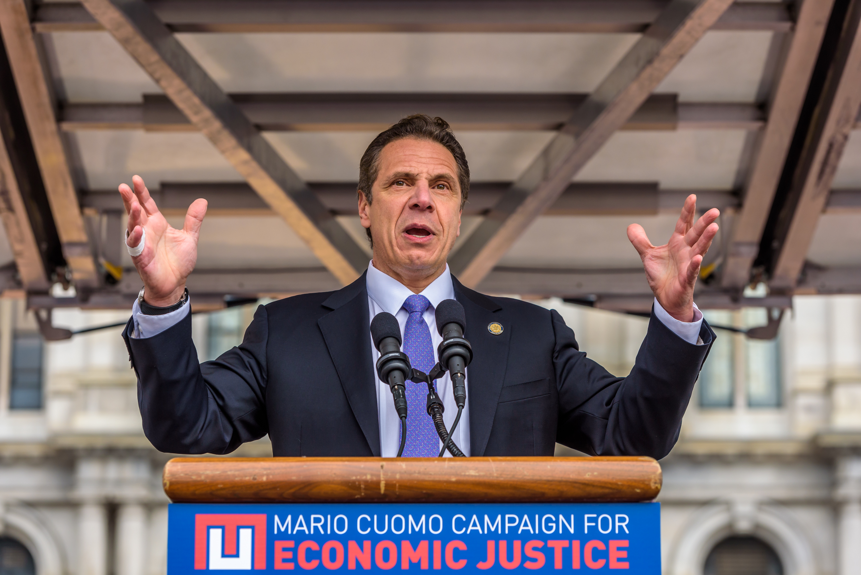 Governor Cuomo said. Raising the minimum wage to $15 is