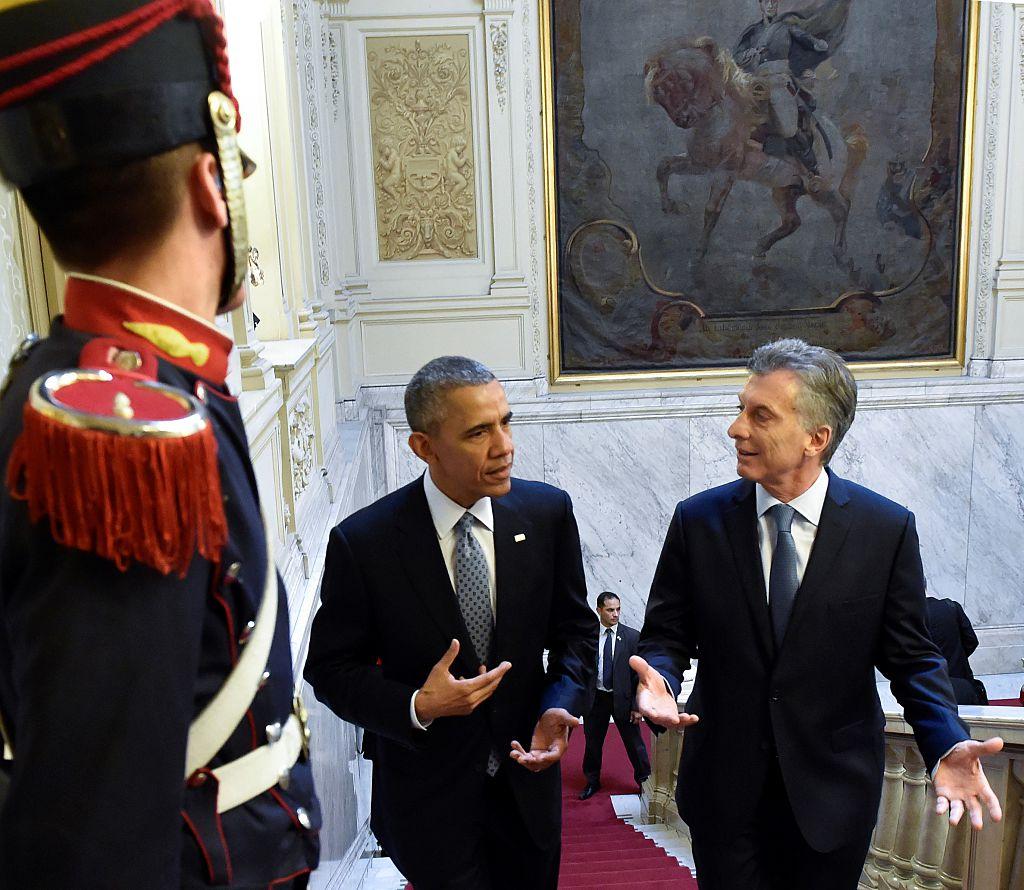 US President Obama in Argentina