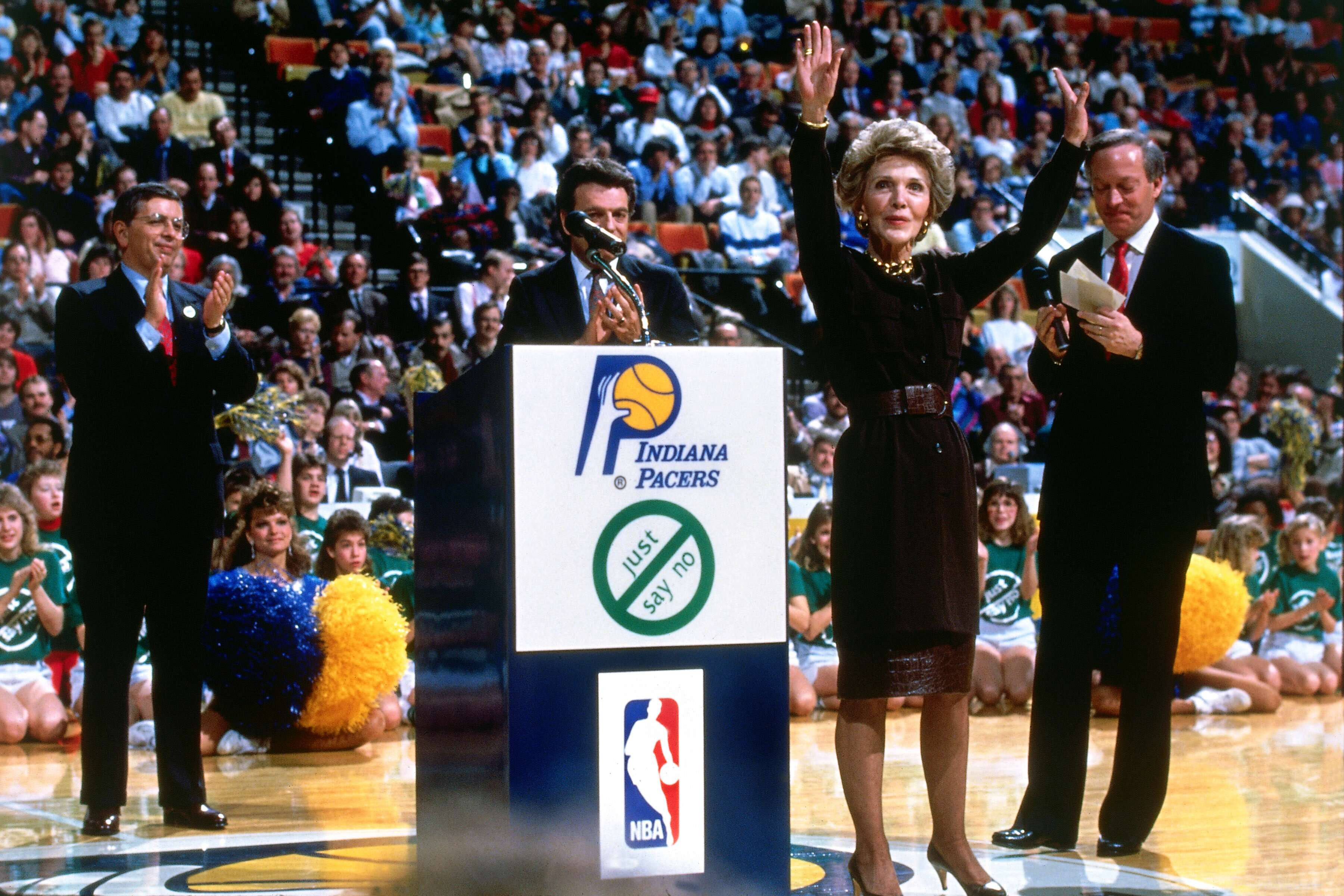 """Indiana Pacers """"Just Say No"""" Campaign"""