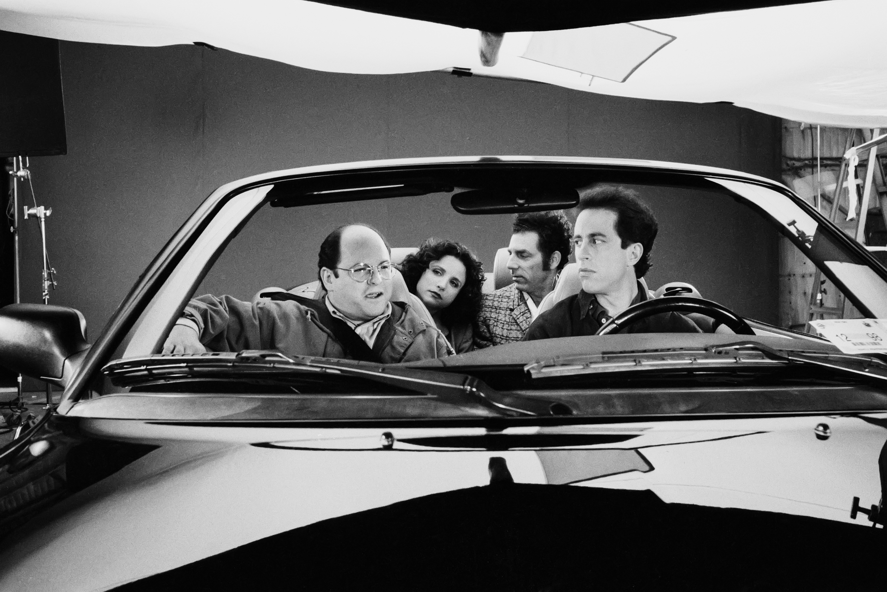 Scene from Jerry Seinfeld's show 'Seinfeld'