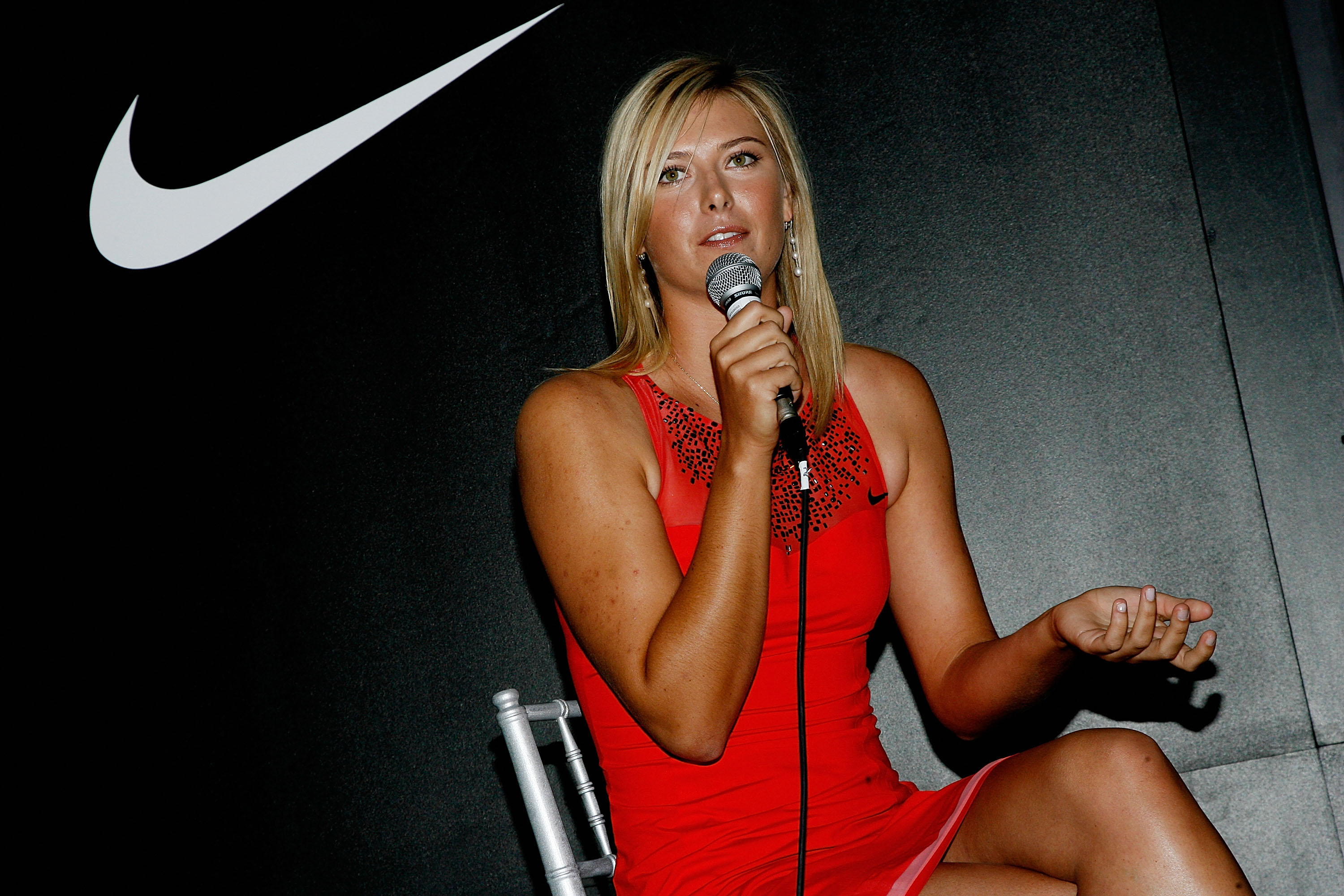 Maria Sharapova and Nike Unveil New Performance Designs For Her U.S. Open Title Defence