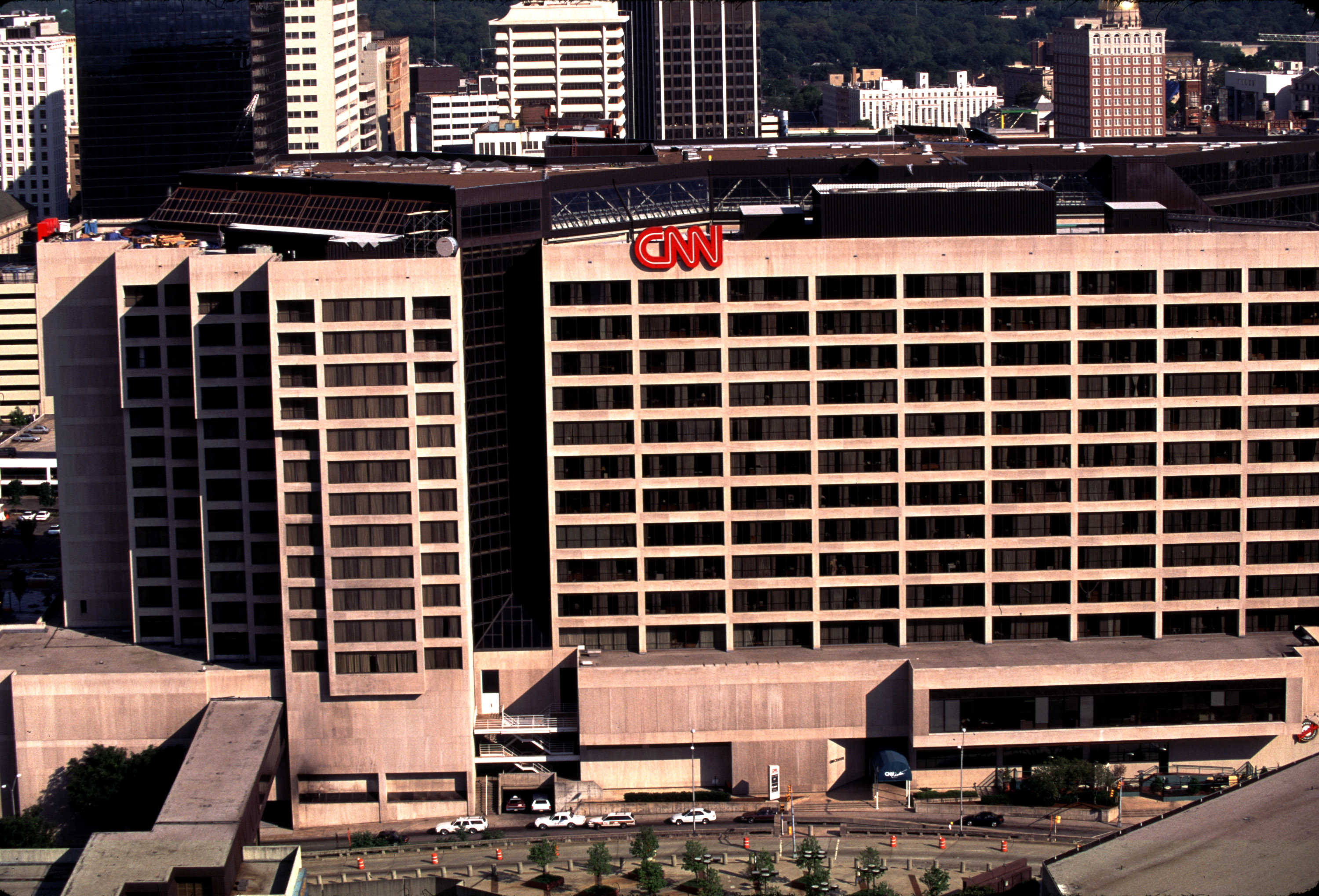 CNN Building in Atlanta