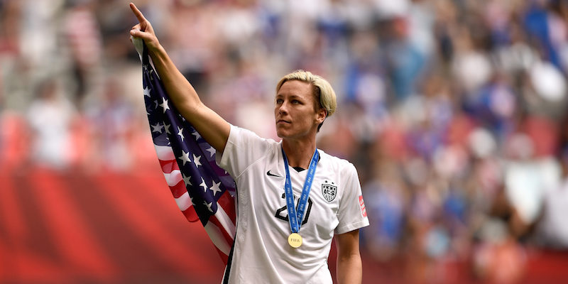 2015 World Cup Champion Abby Wambach retires holding the international record for goals scored.