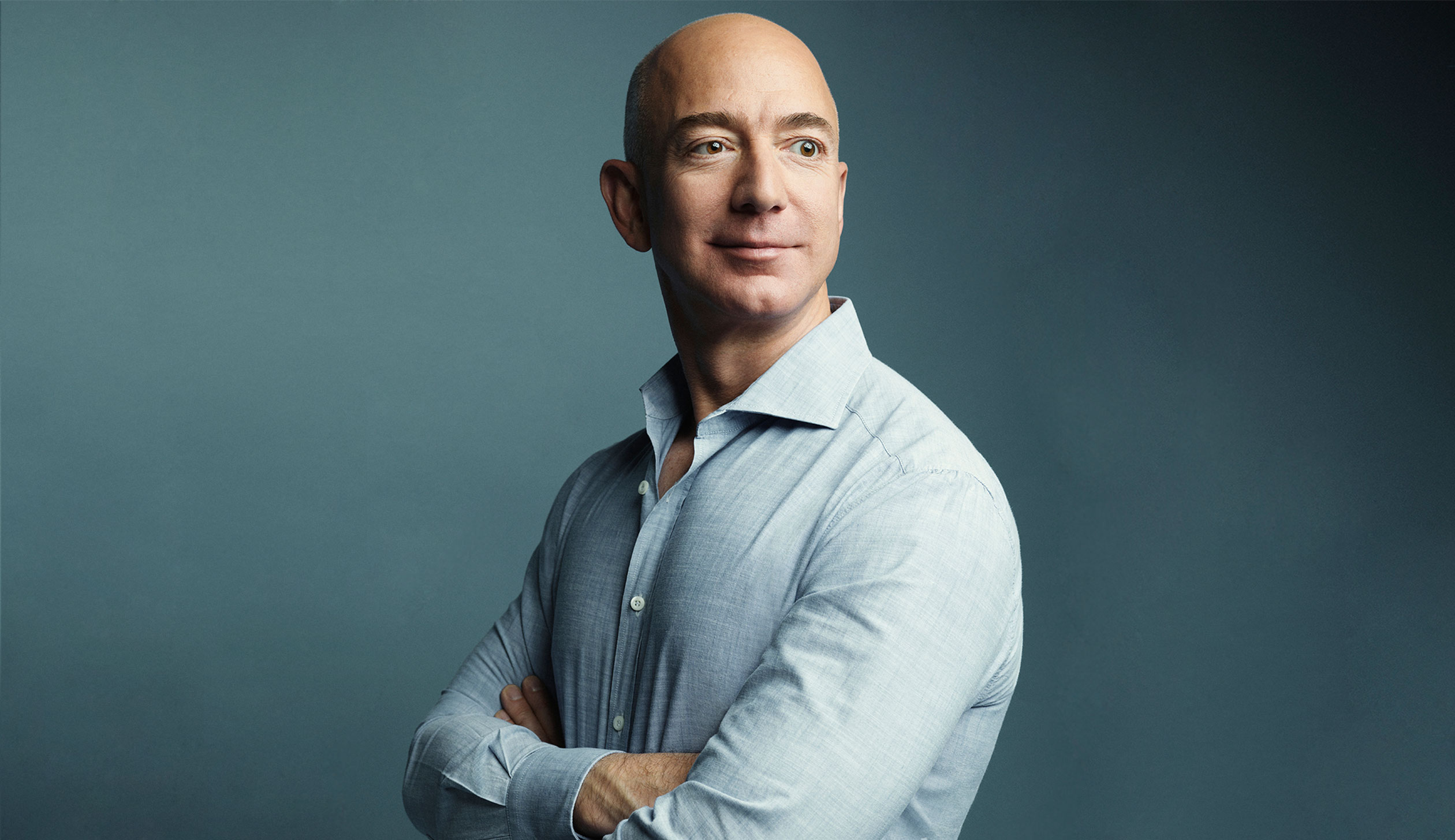 Bezos, photographed at Amazon headquarters in Seattle on March 11.