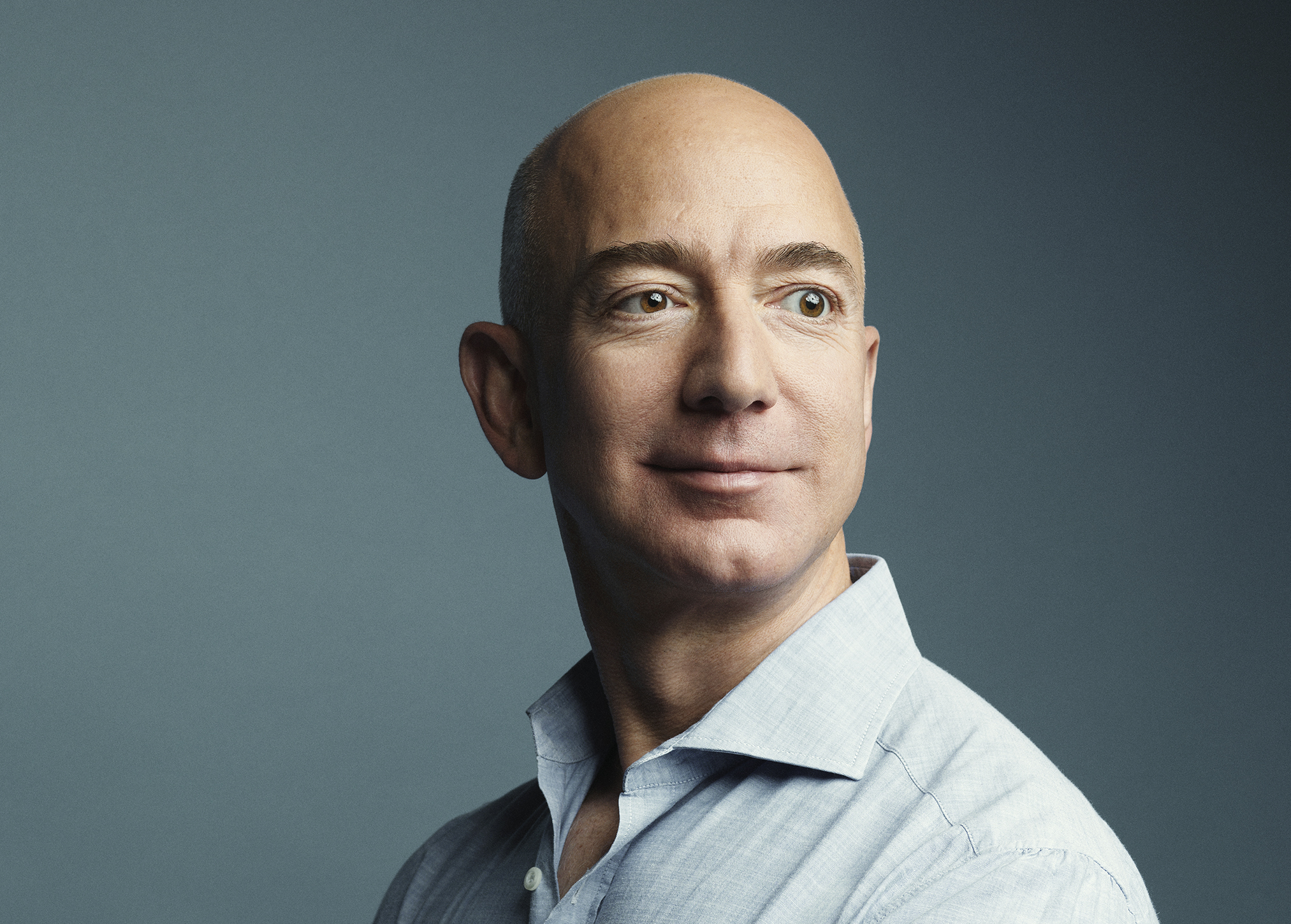 Jeff Bezos, photographed at Amazon headquarters in Seattle on March 11, 2016.