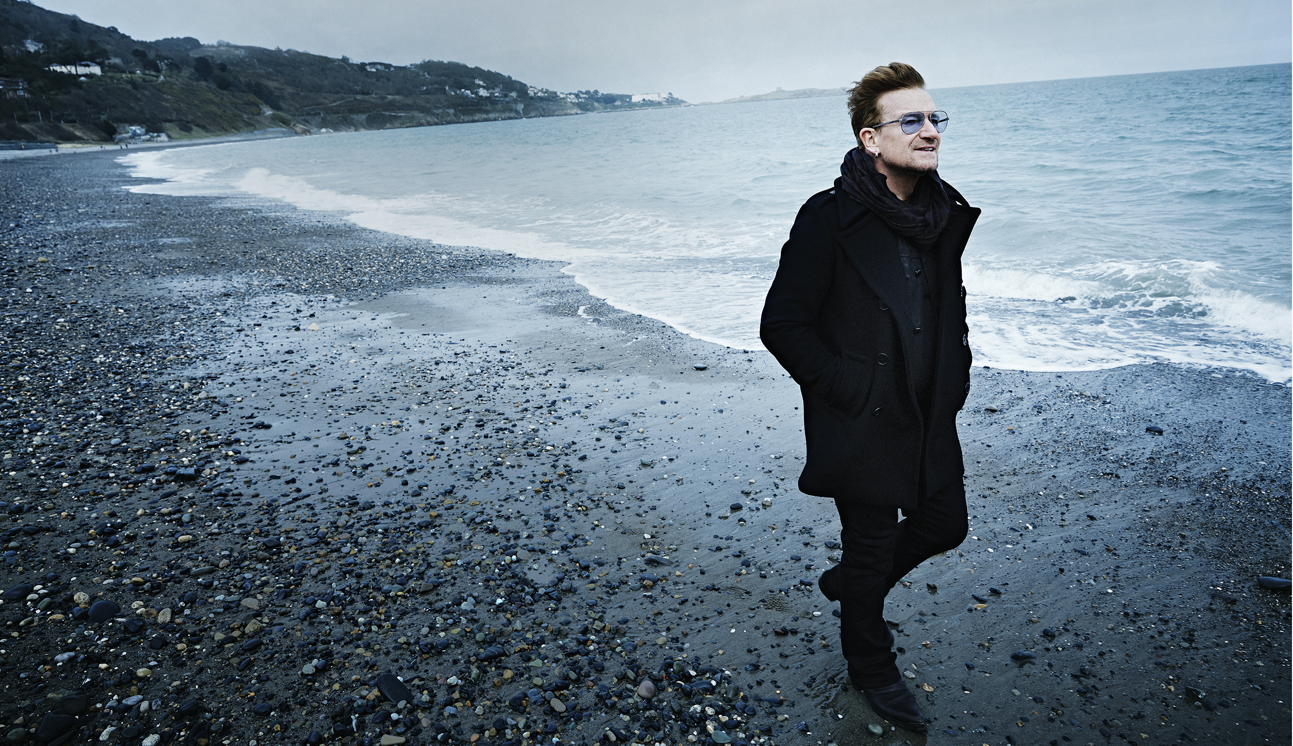 Bono, photographed near his home outside Dublin in March 2016.
