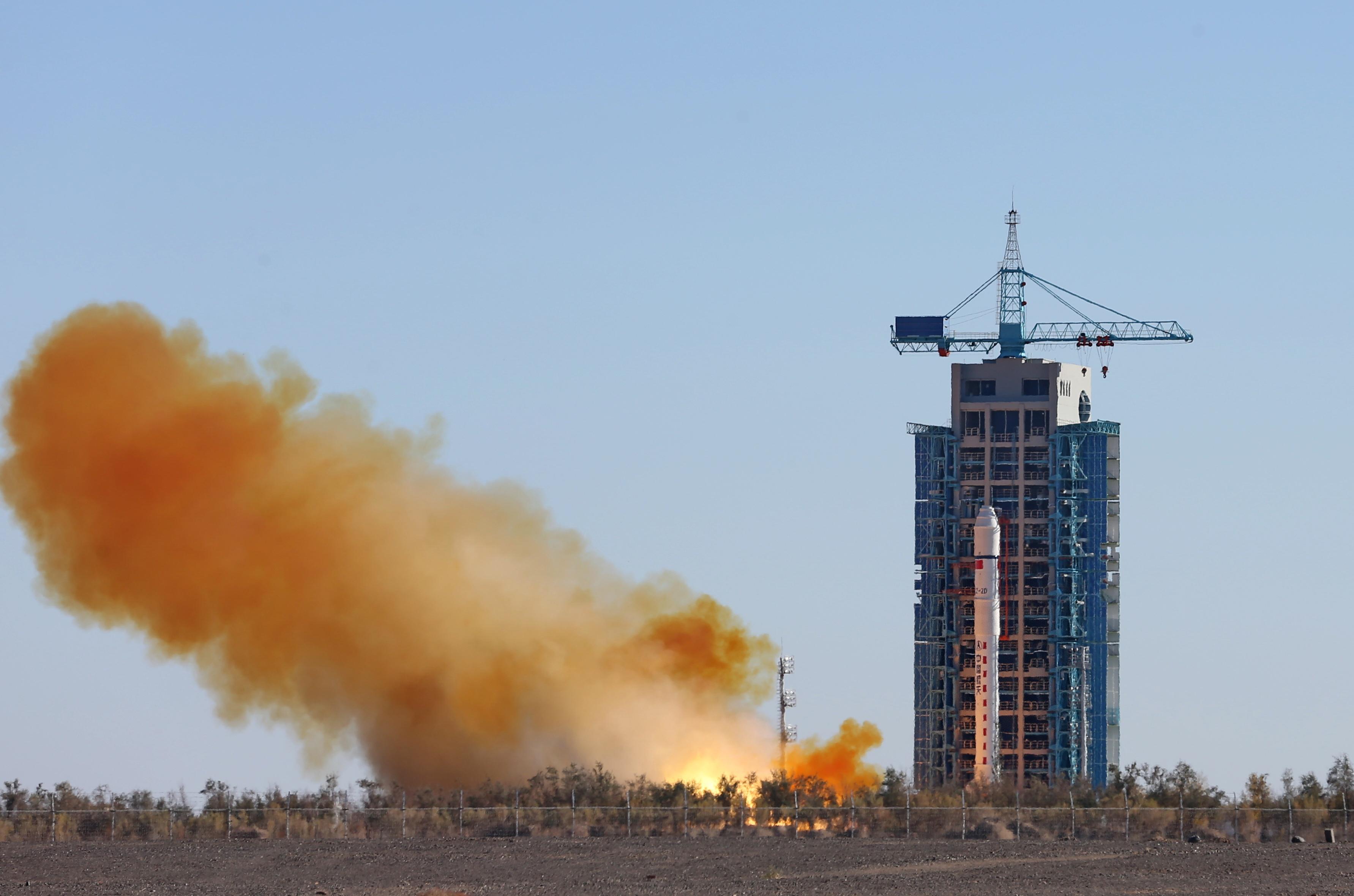 CHINA-JIUQUAN-MAPPING SATELLITE-LAUNCH (CN)