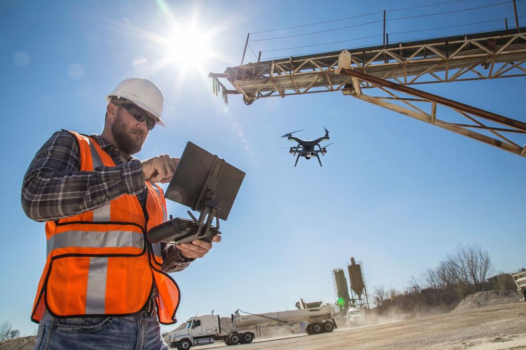 Many expect drones will become the preferred tool for workers surveying construction sites.