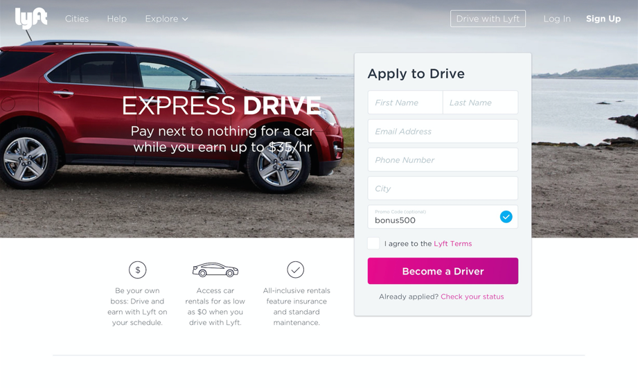 Lyft and GM are launching a short-term rental program to attract more drivers.