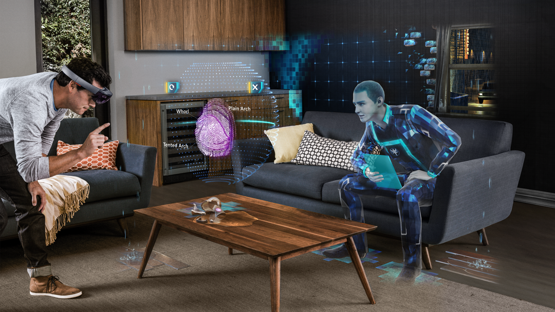 Asobo Studio created two games for Microsoft HoloLens, including the mystery Fragments.