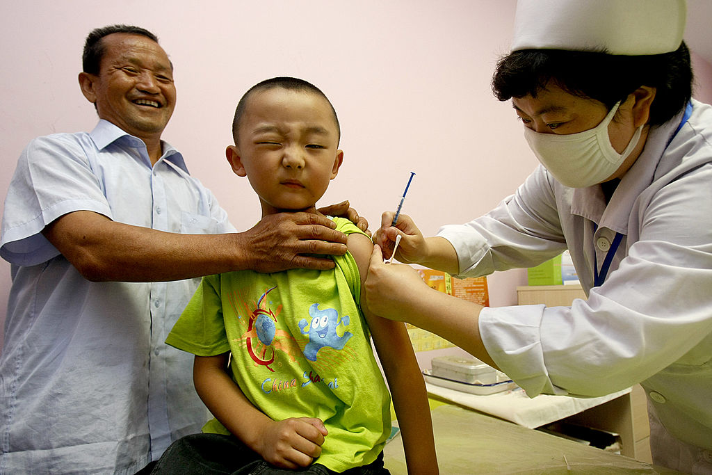 China Starts Vaccinating Millions Of Children Against Measles