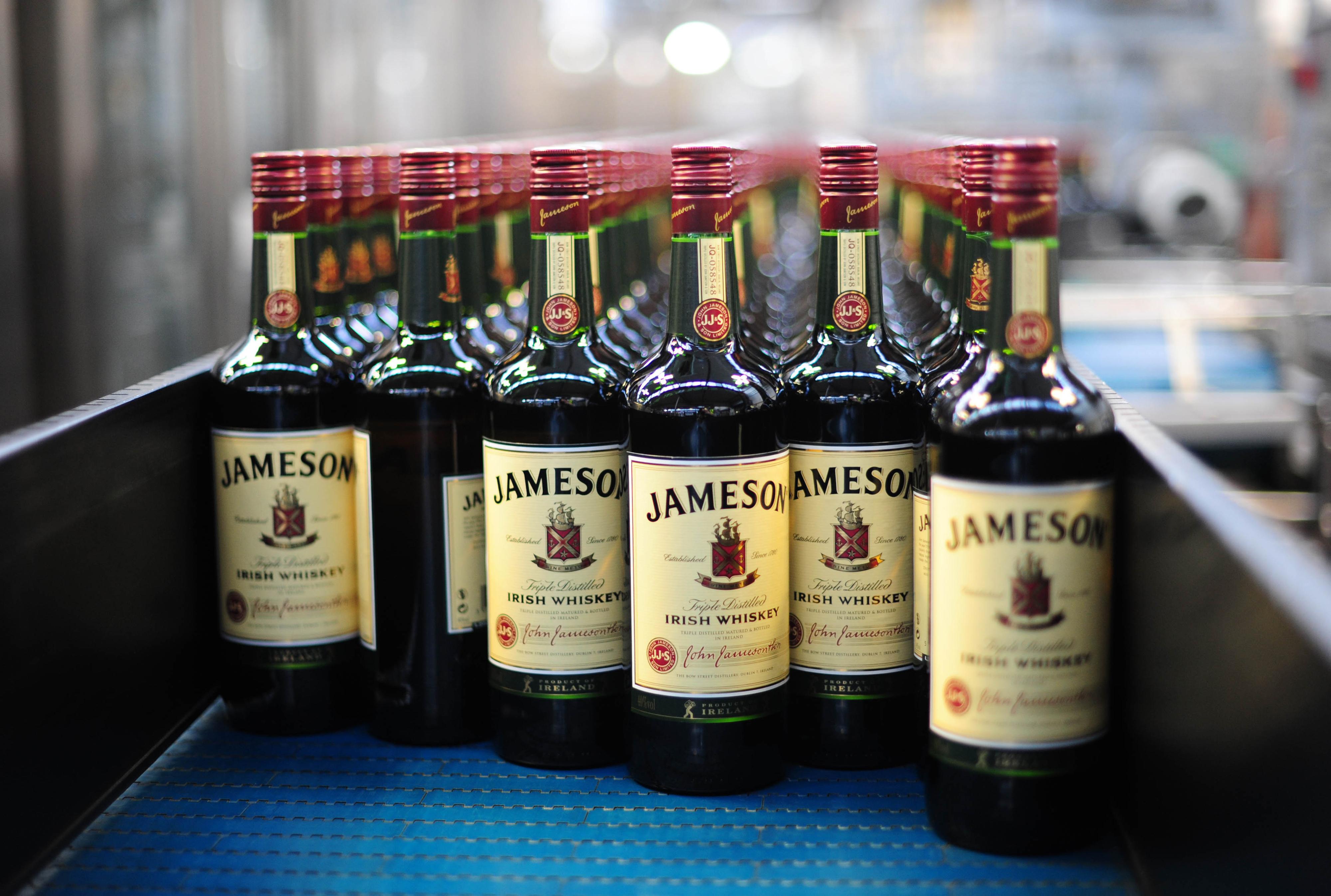 Production At Pernod-Ricard SA's Jameson Irish Whiskey Plant