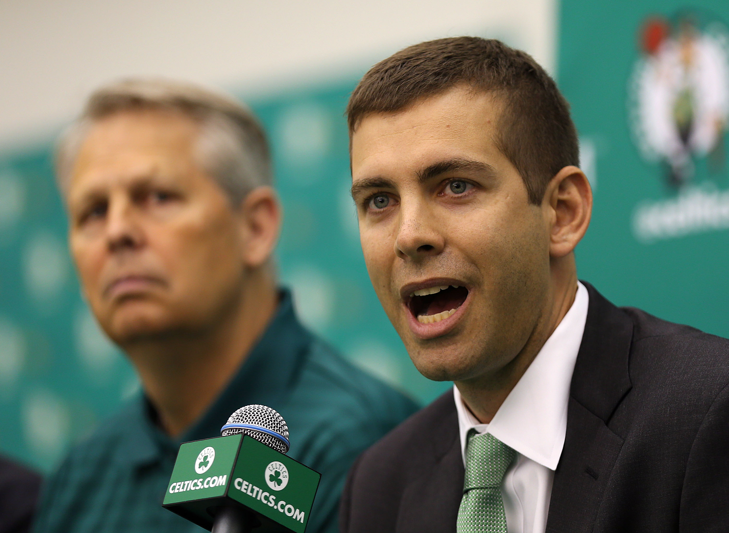 New Boston Celtics Head Coach Brad Stevens