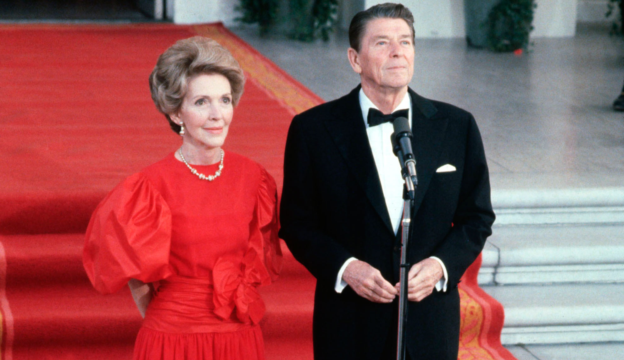Nancy Reagan Ronald Reagan 1981