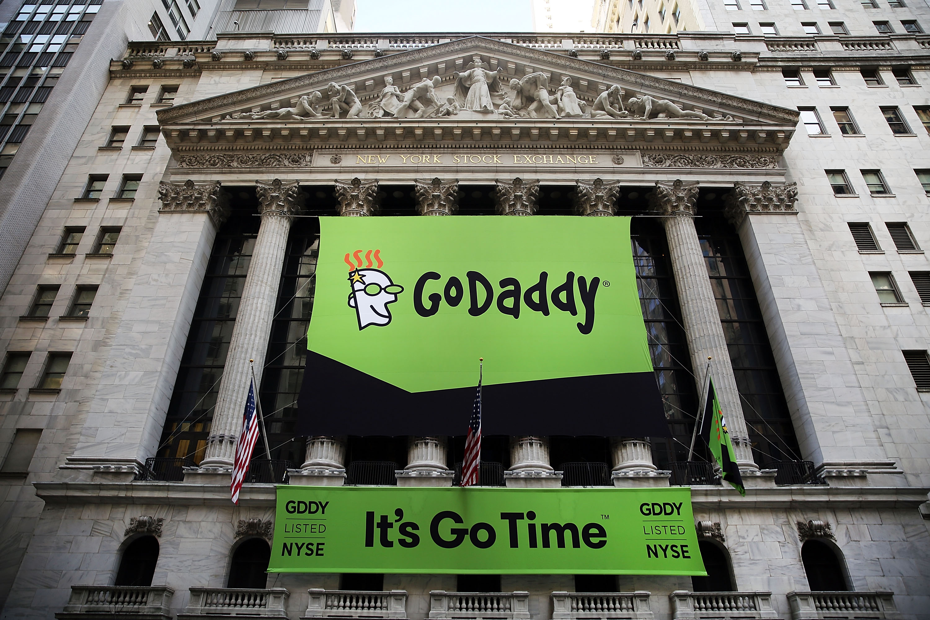 Internet Domain Registrar GoDaddy Goes Public On New York Stock Exchange