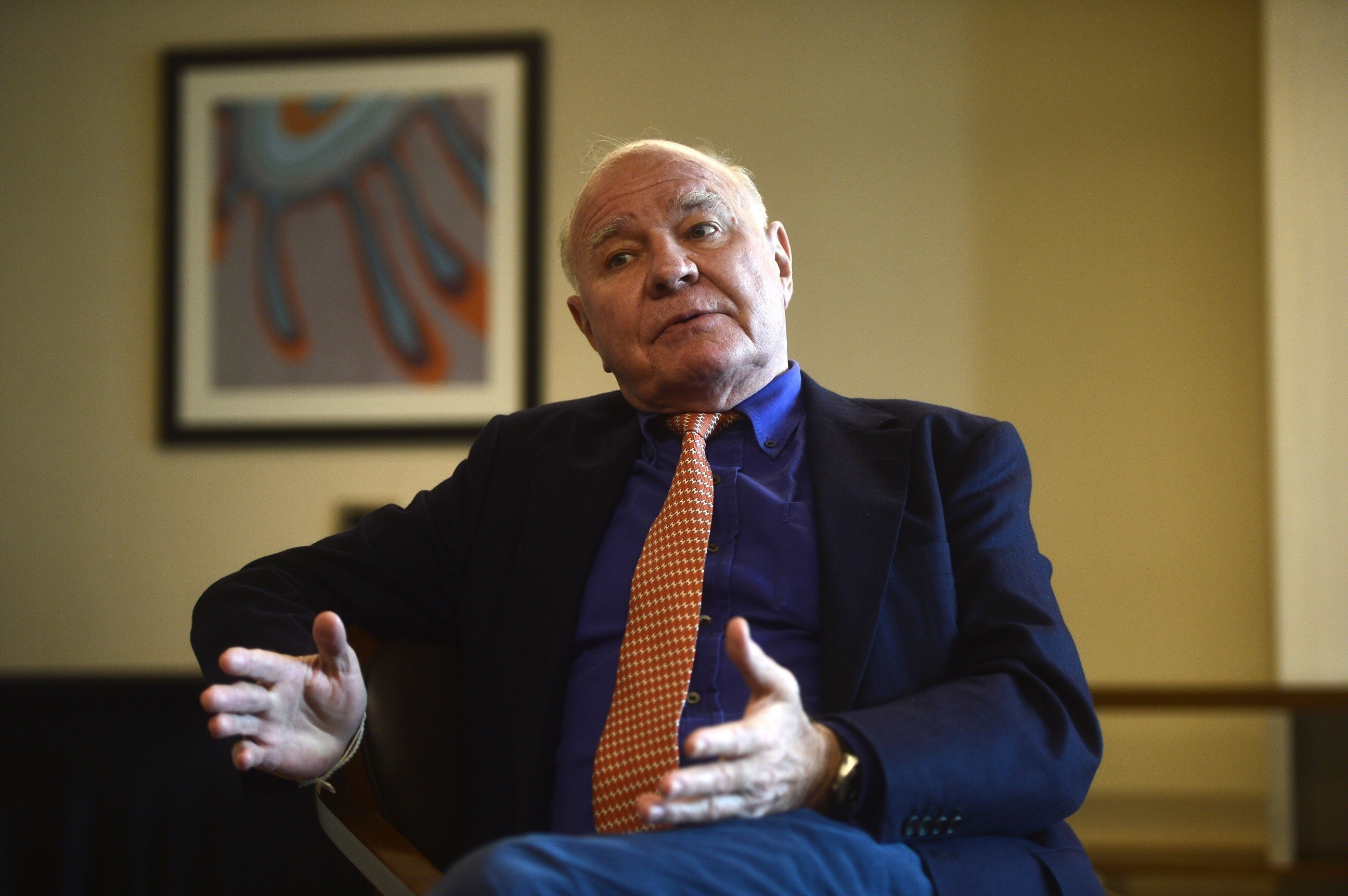 Swiss investor Marc Faber in Istanbul