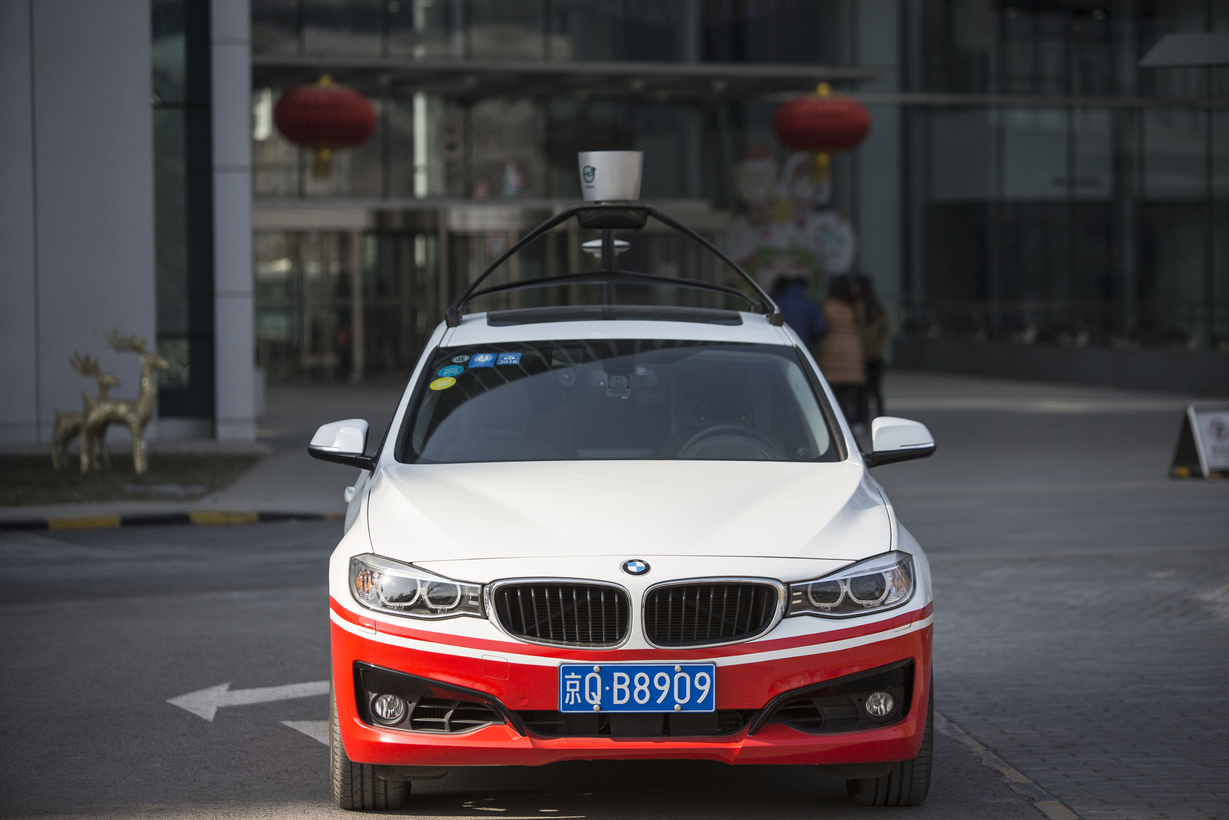 Baidu Wants to Bring Self-Driving Cars to the Masses by 2021