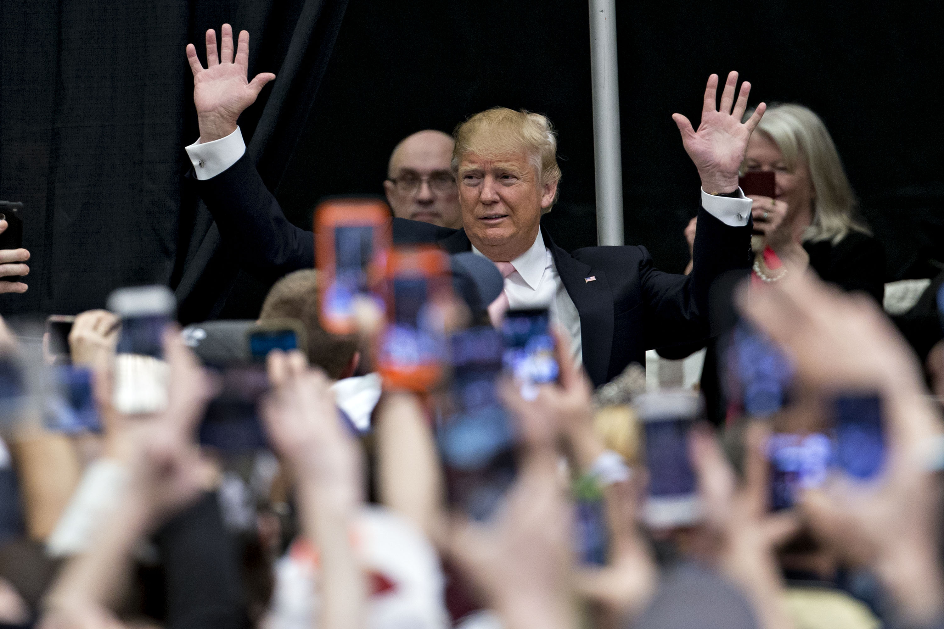 Presidential Candidate Donald Trump Holds Virginia Campaign Rally