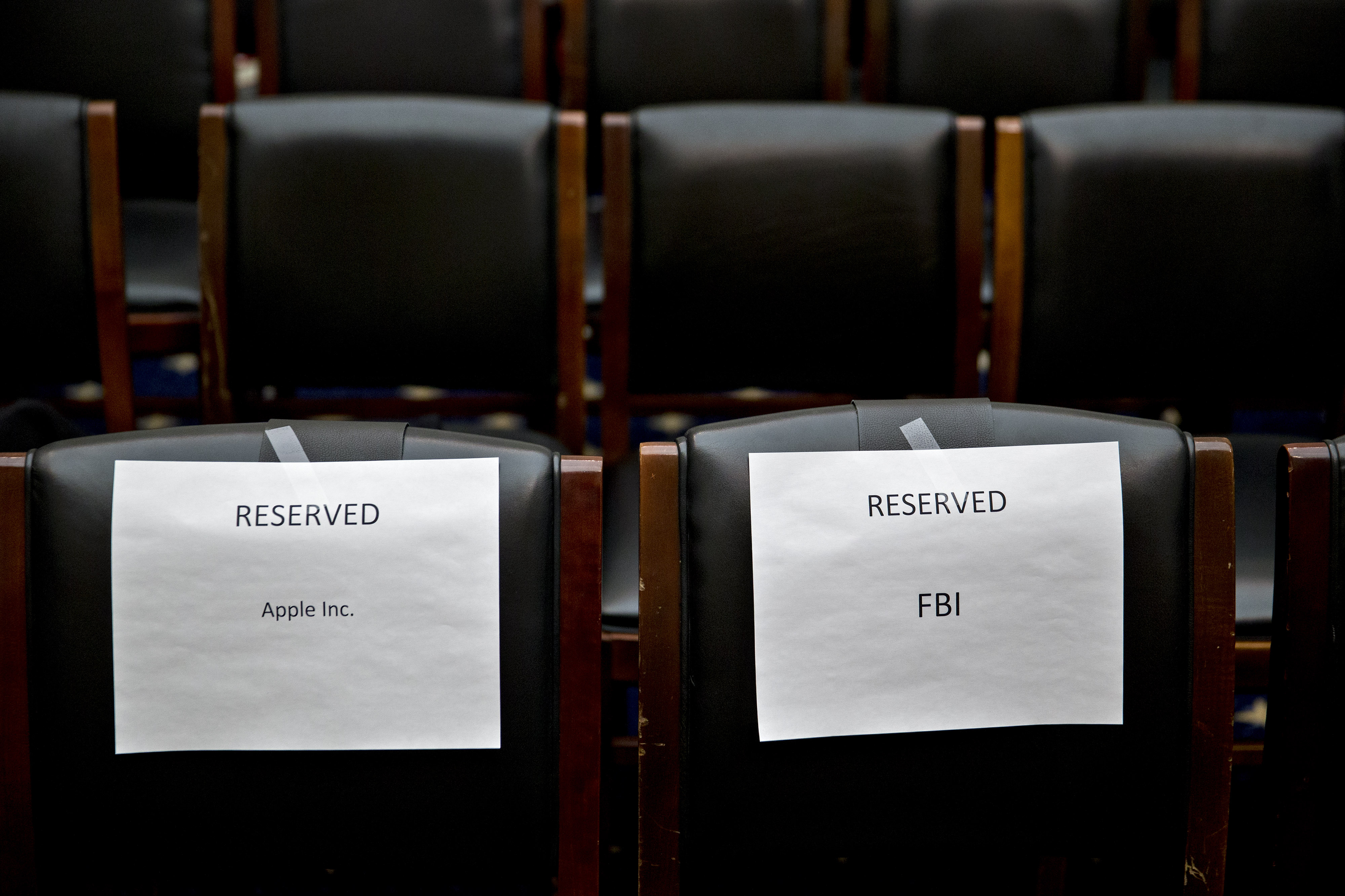House Judiciary Committee Hearing With FBI Director James Comey And Apple Inc.