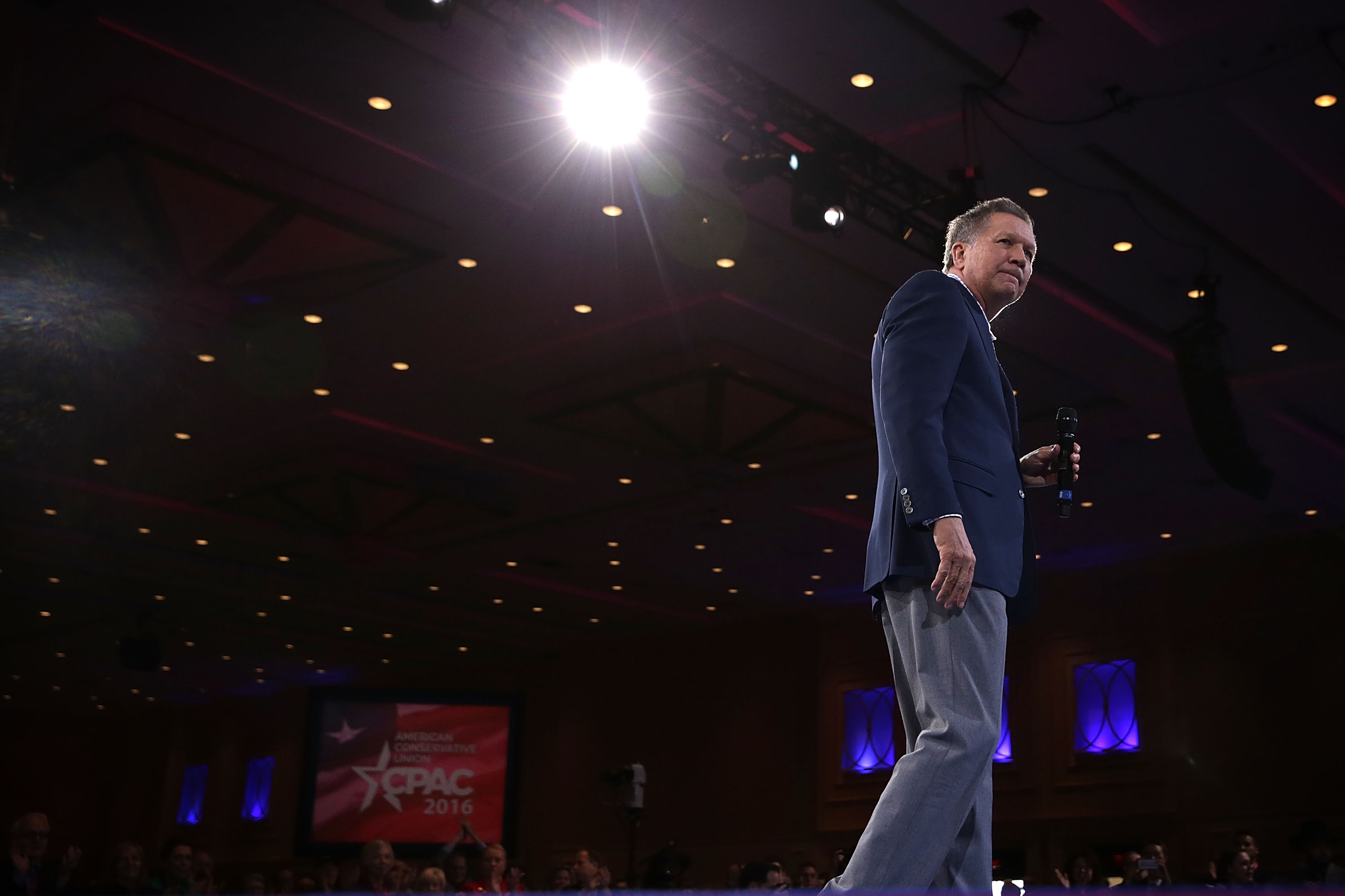 GOP Presidential Candidates Attend CPAC Conference In Washington DC