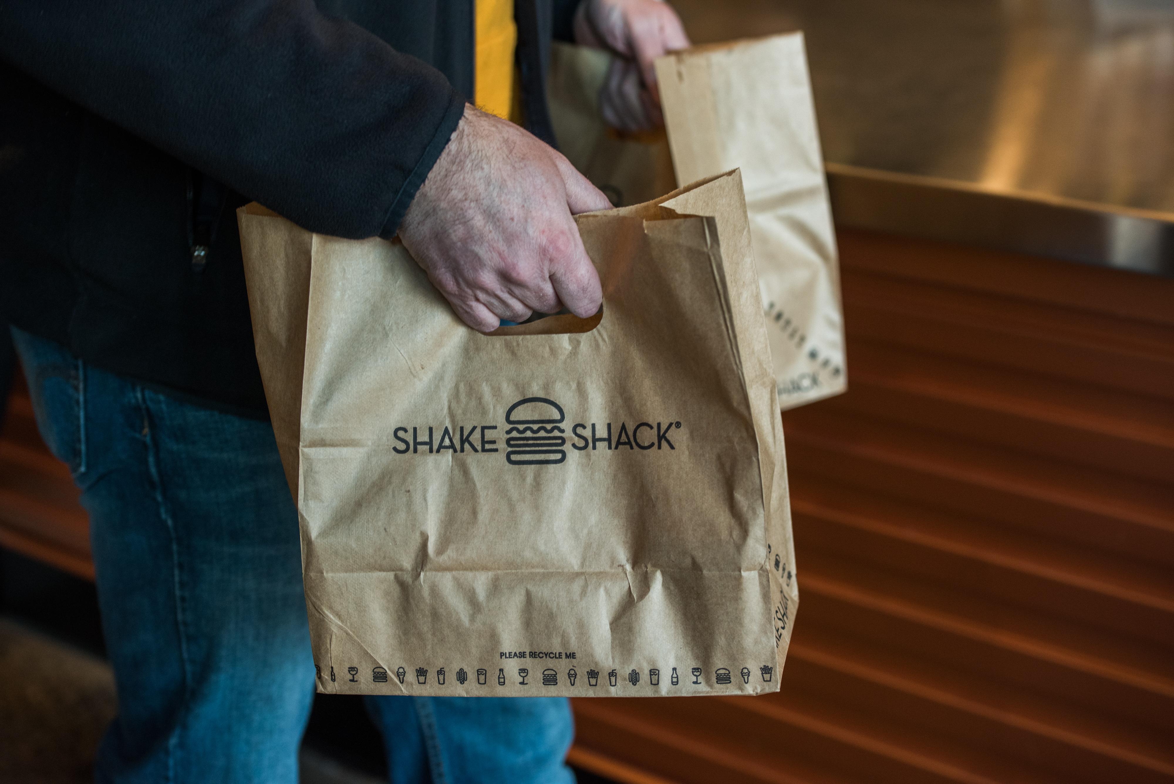 Inside A Shake Shack Inc. Restaurant Ahead Of Earnings Figures