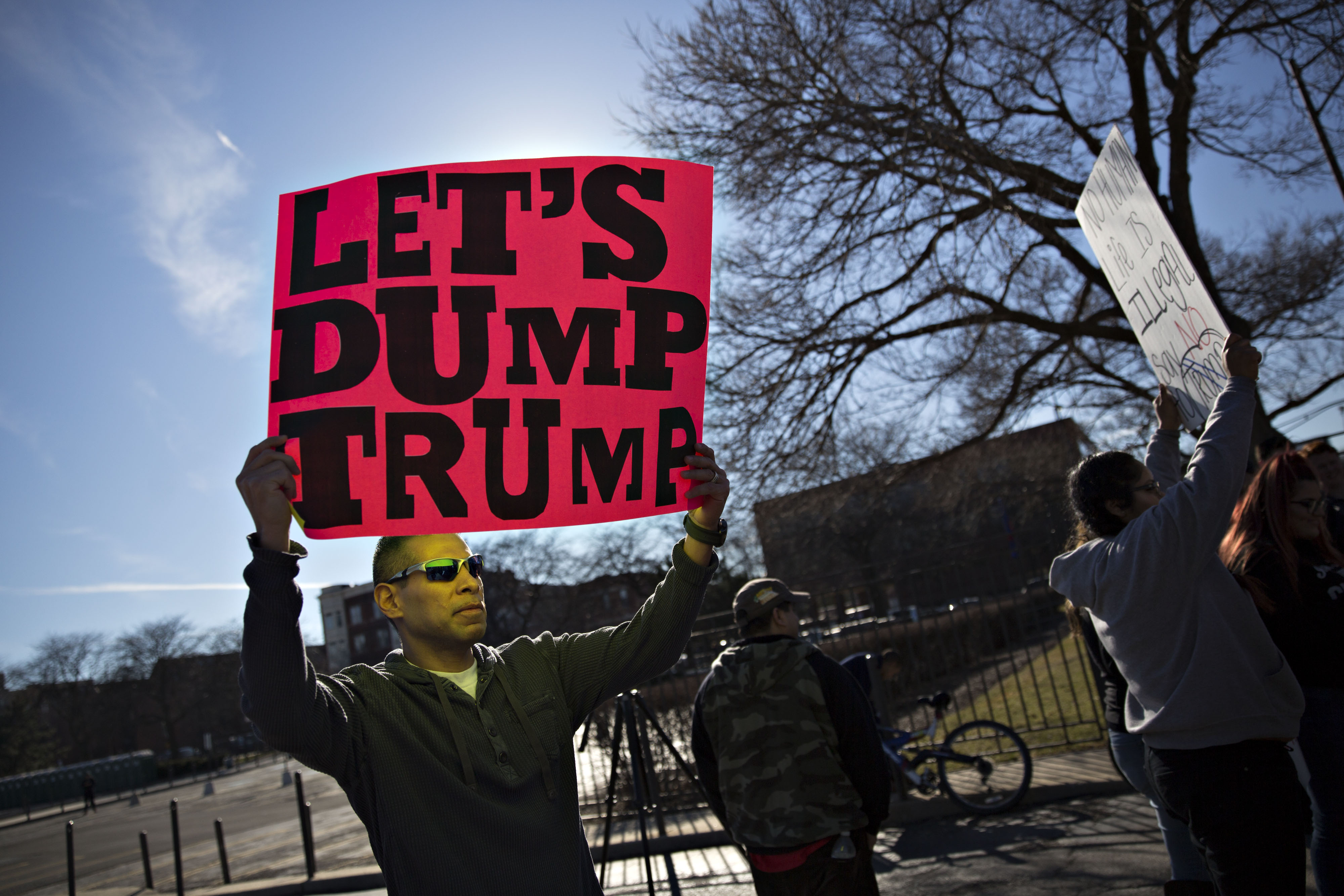 Presidential Candidate Donald Trump Holds Chicago Campaign Rally