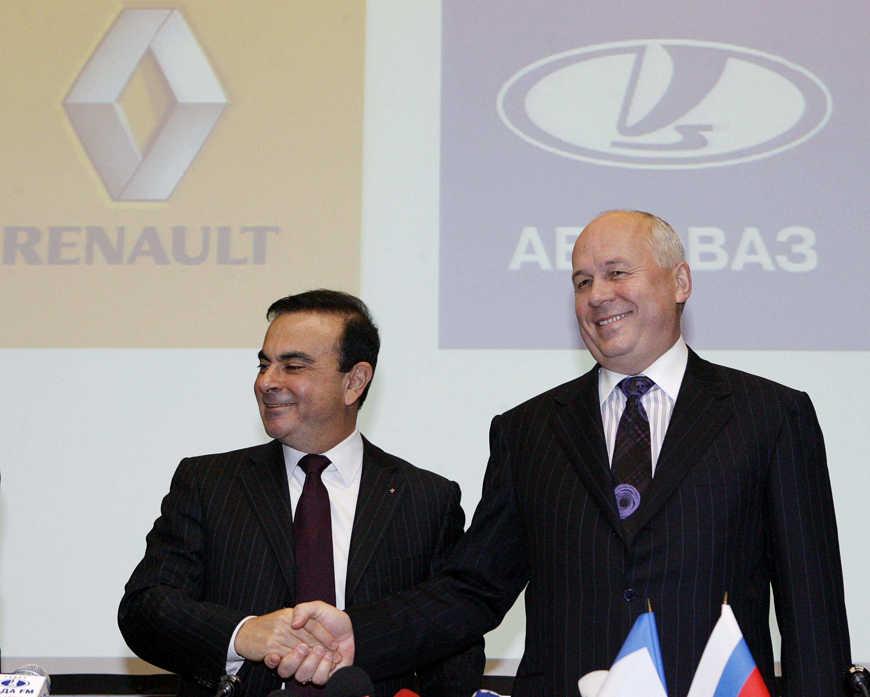 Renault Buy Stake In Makers of Lada
