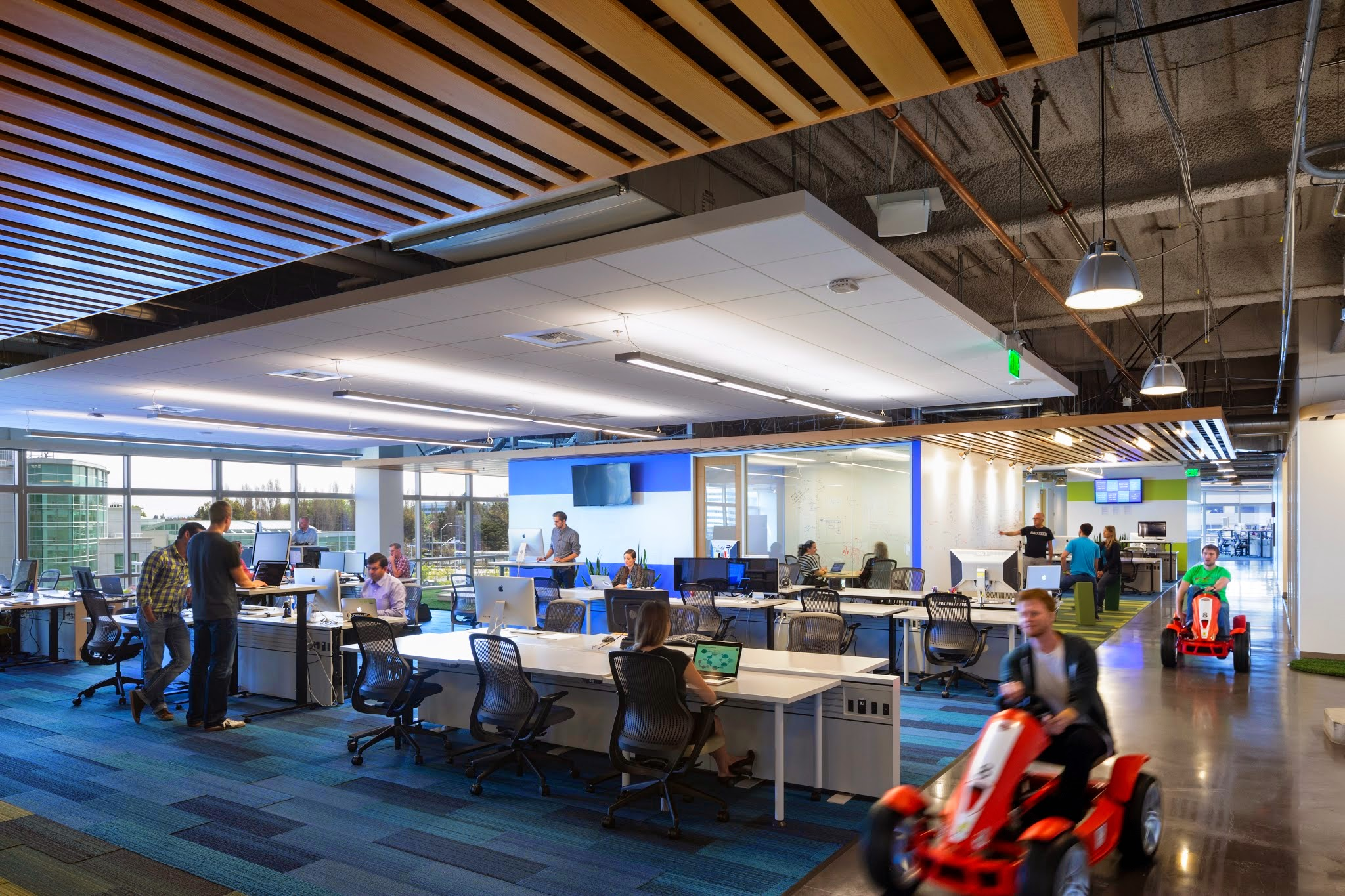 GoDaddy coolest offices 2016