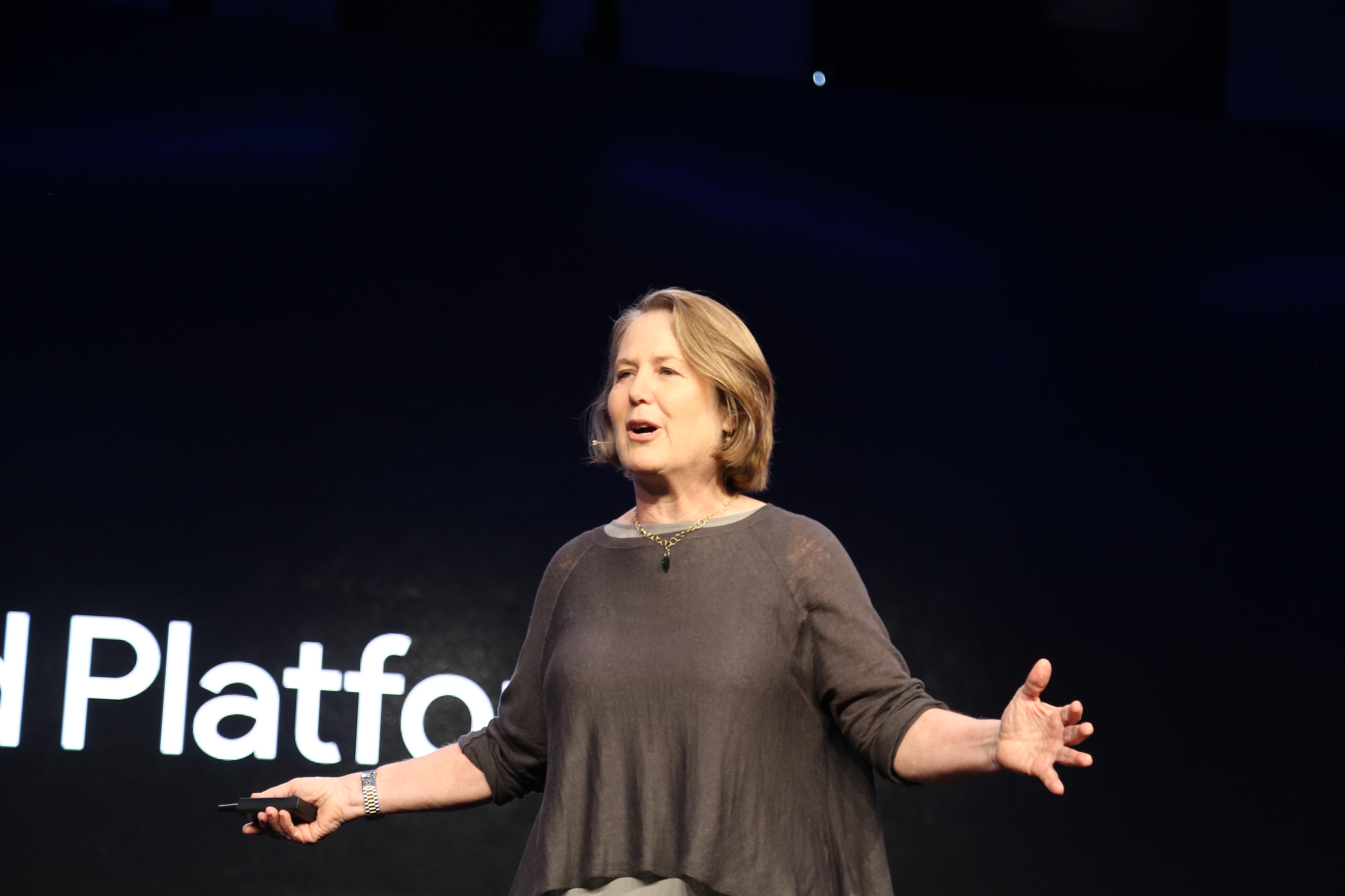 Google Senior Vice President Diane Greene